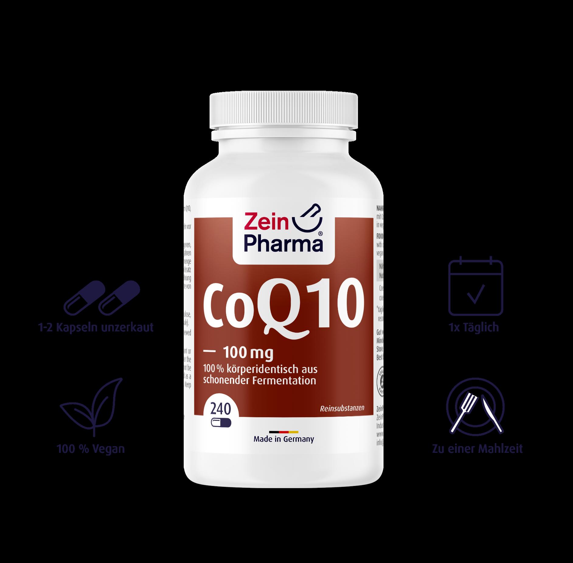 Coenzym Q10 Kapseln 100 mg