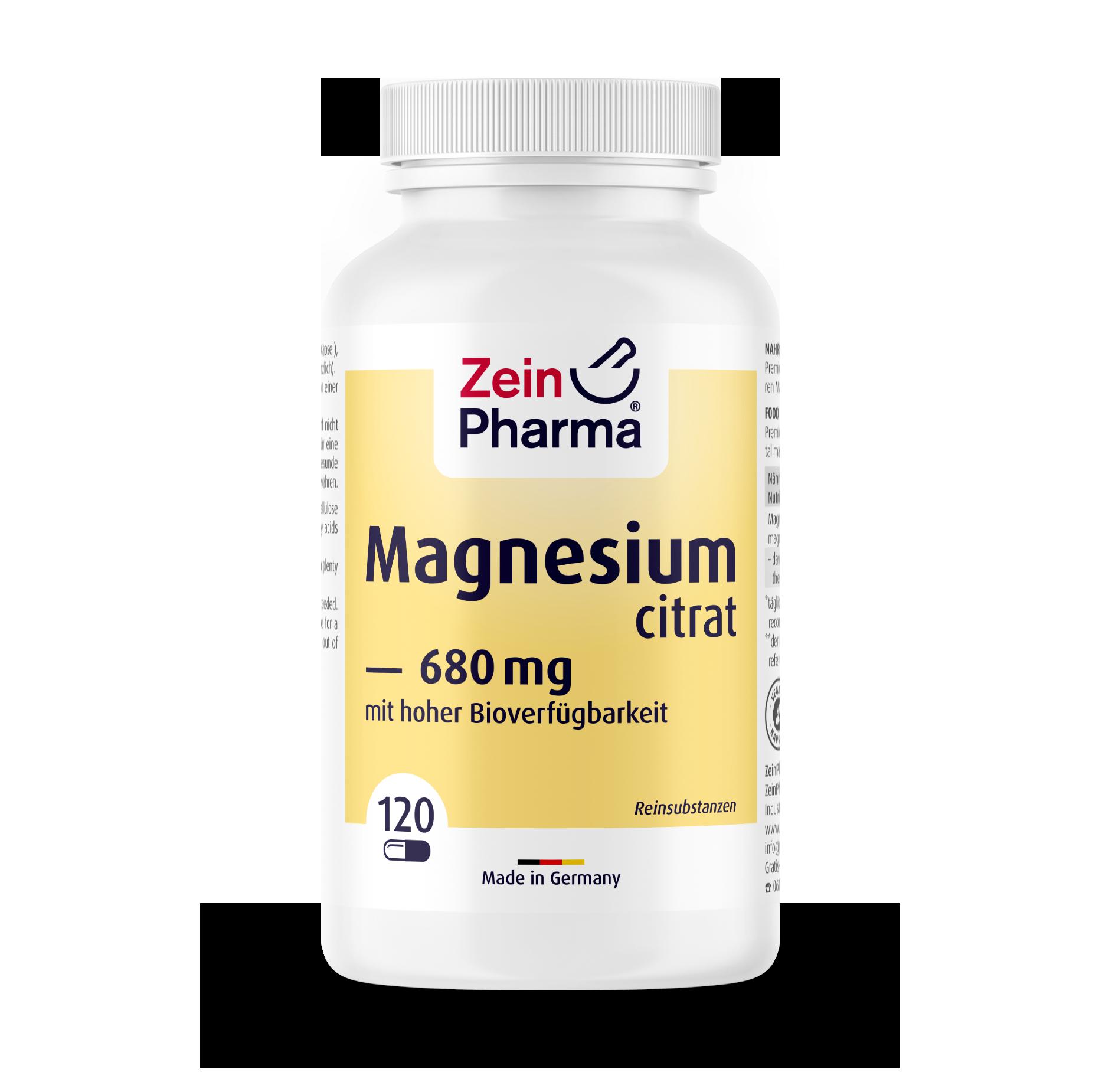 Magnesiumcitrat Kapseln 680 mg