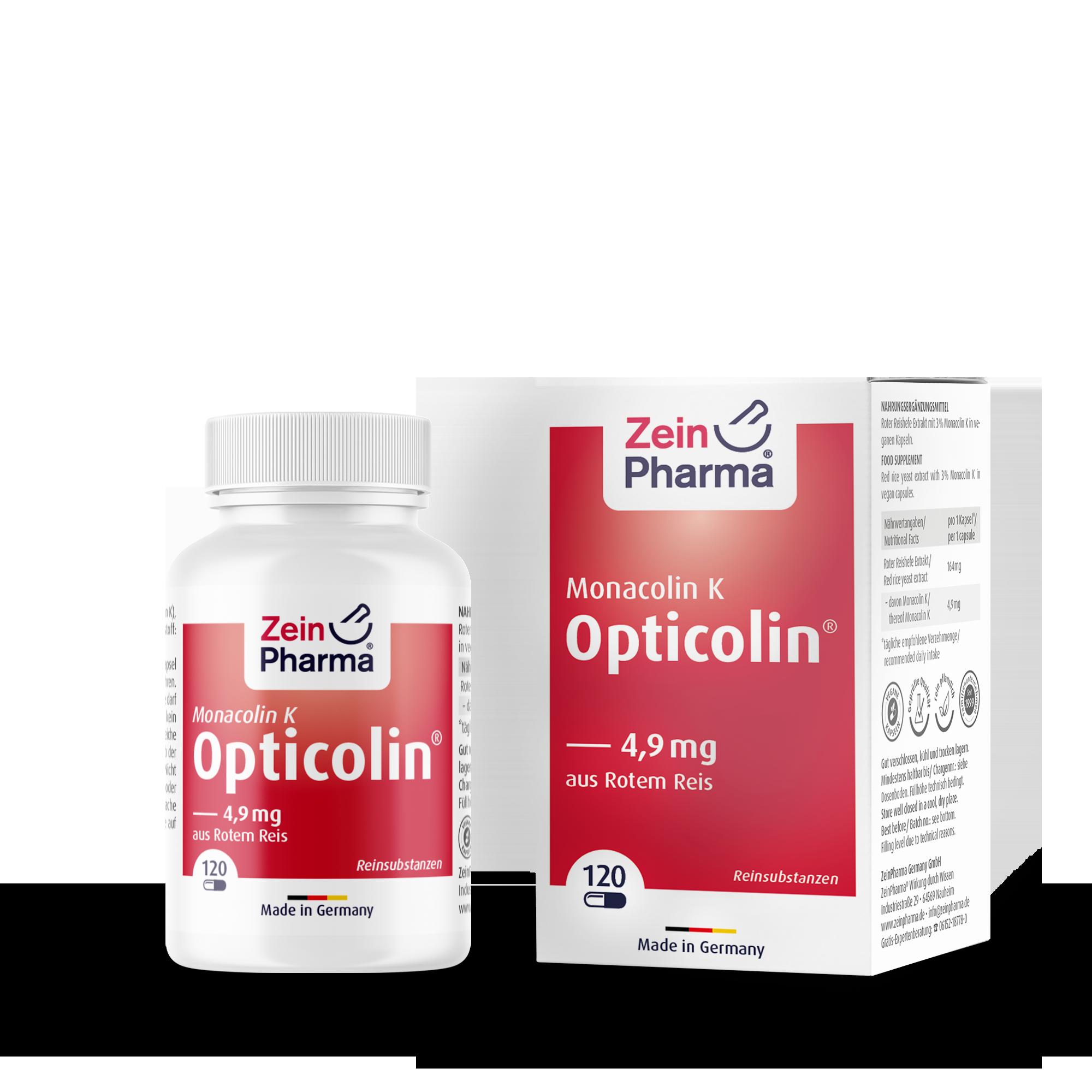 Monacolin K Opticolin® 4,9 mg