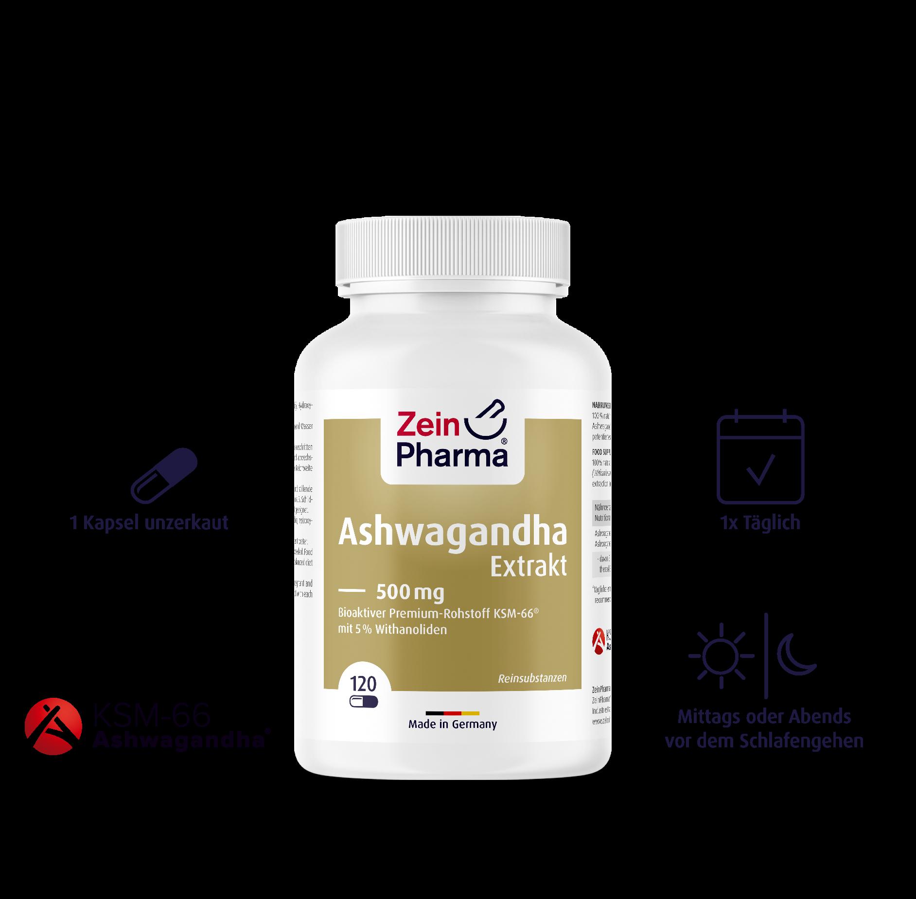 Ashwagandha Extrakt Kapseln