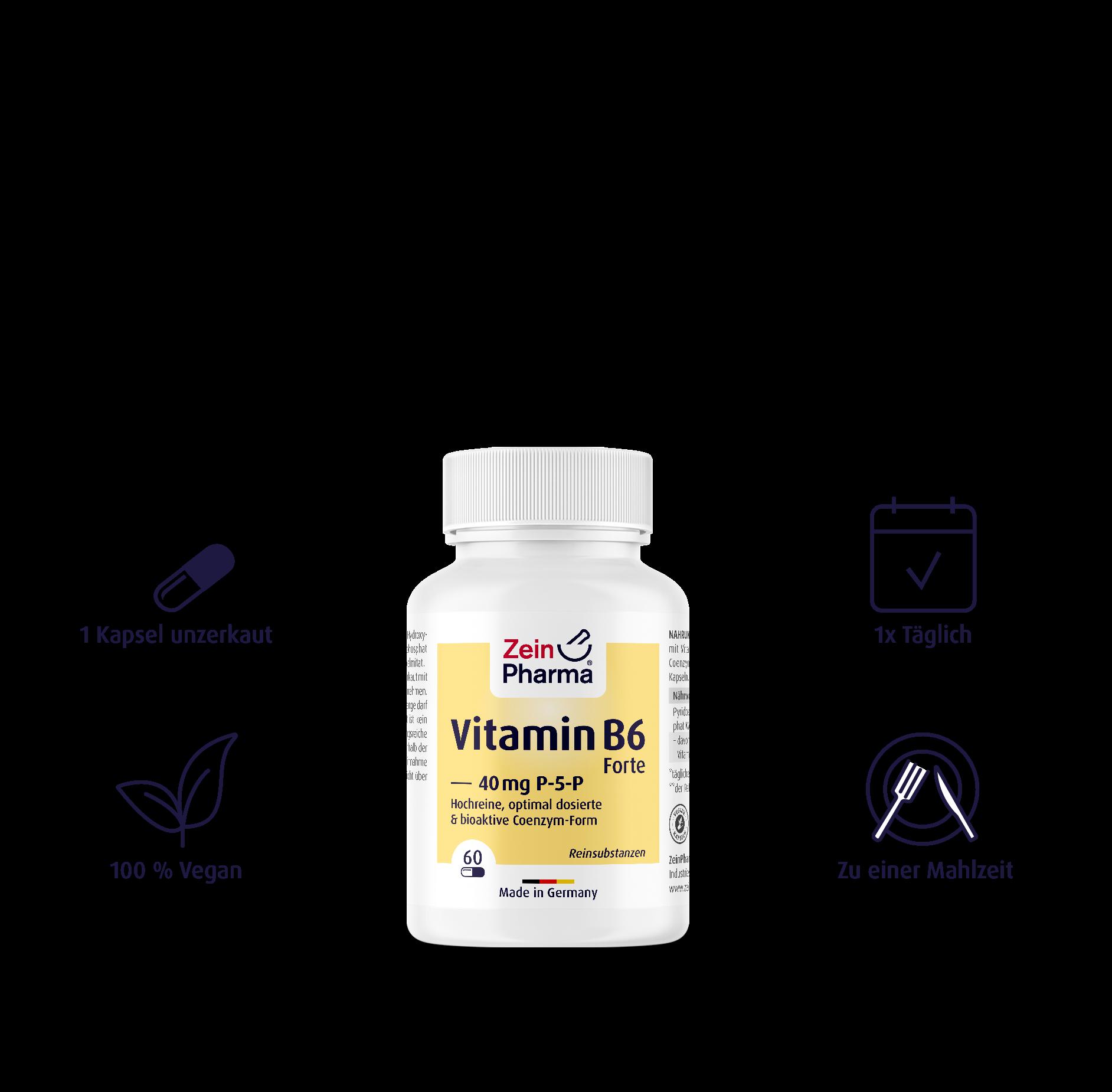 Vitamin B6 Forte (P-5-P) Kapseln