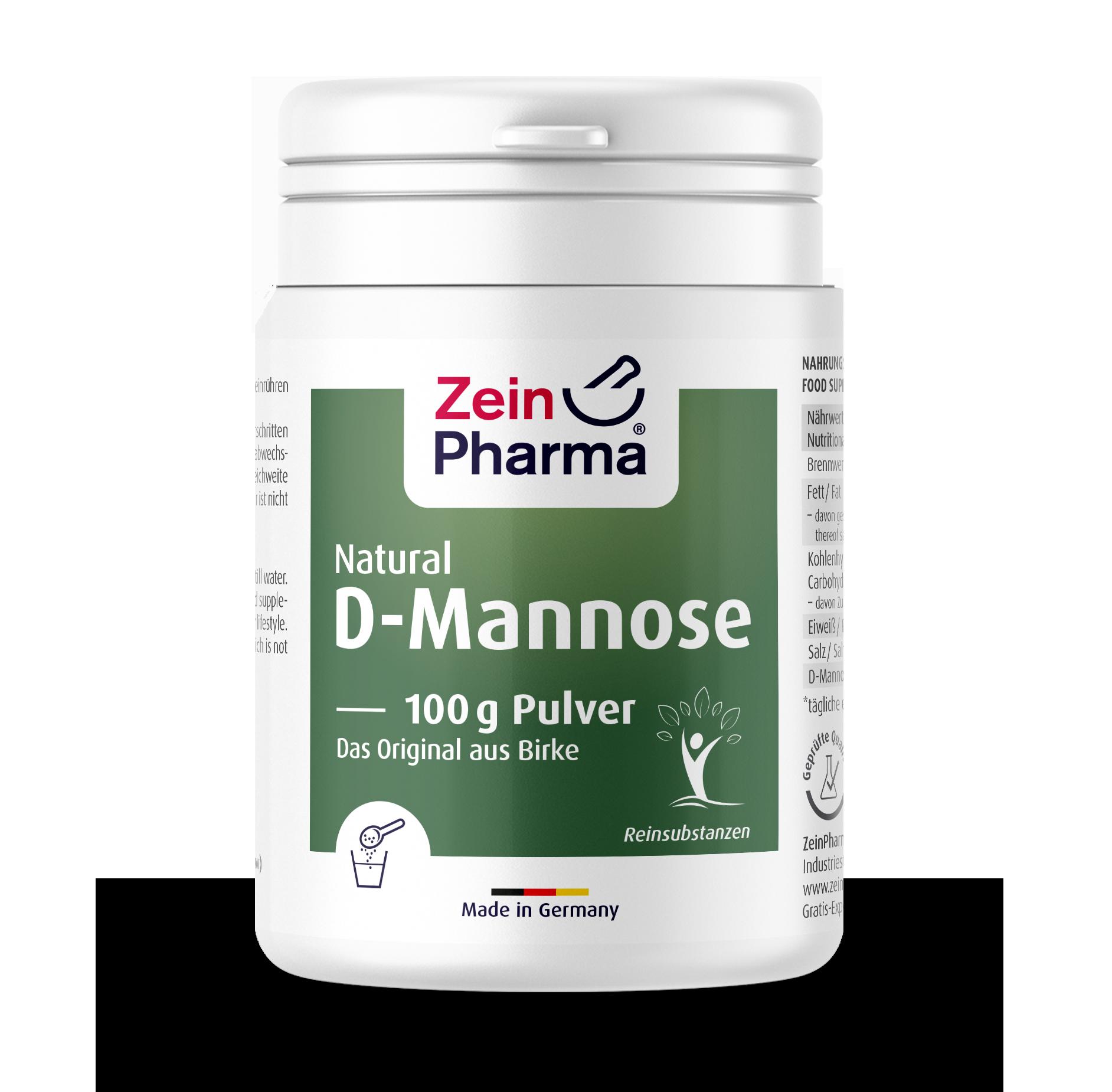 Natural D-Mannose 100 g Pulver