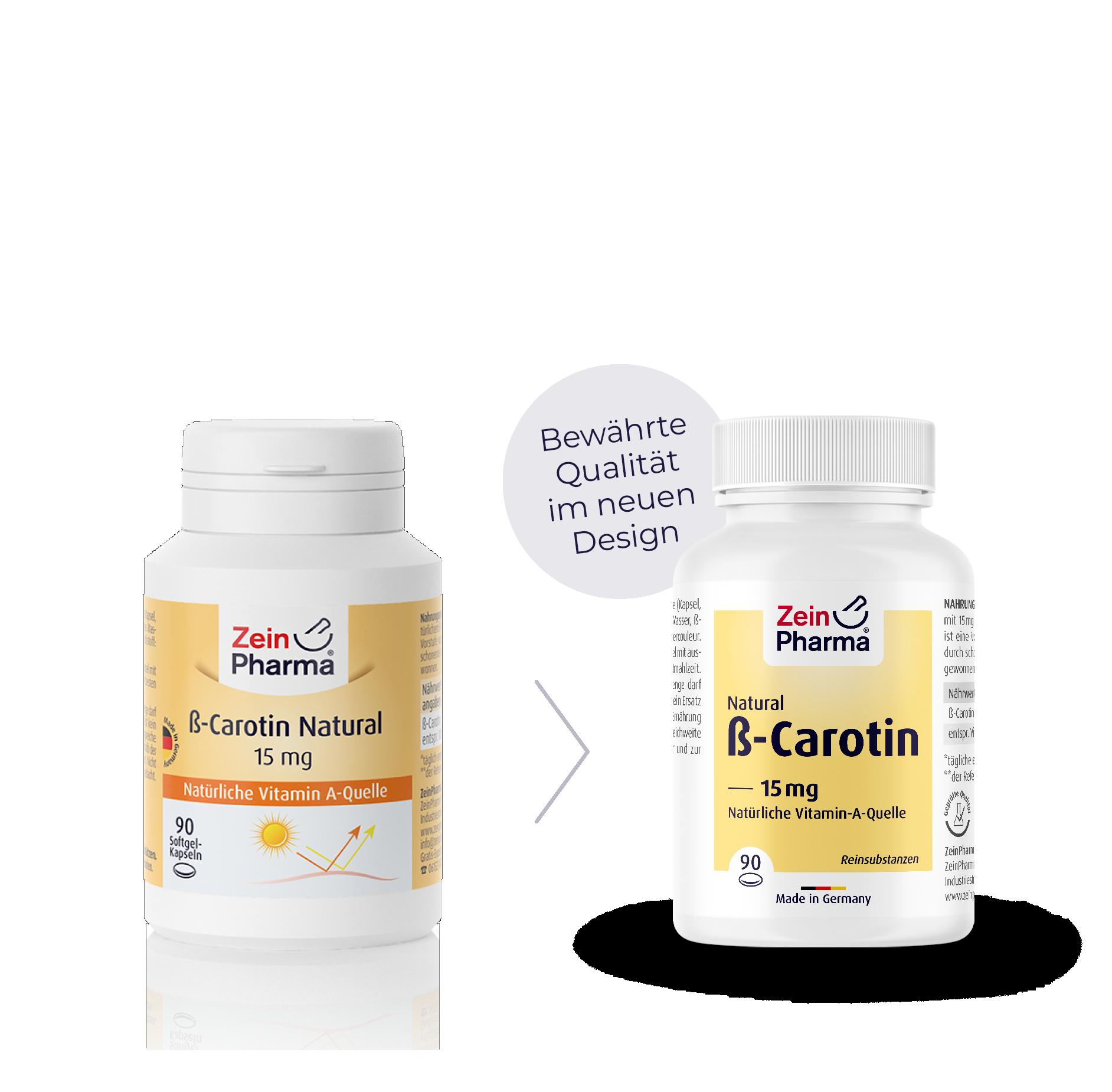 Beta-Carotin Natural Kapseln