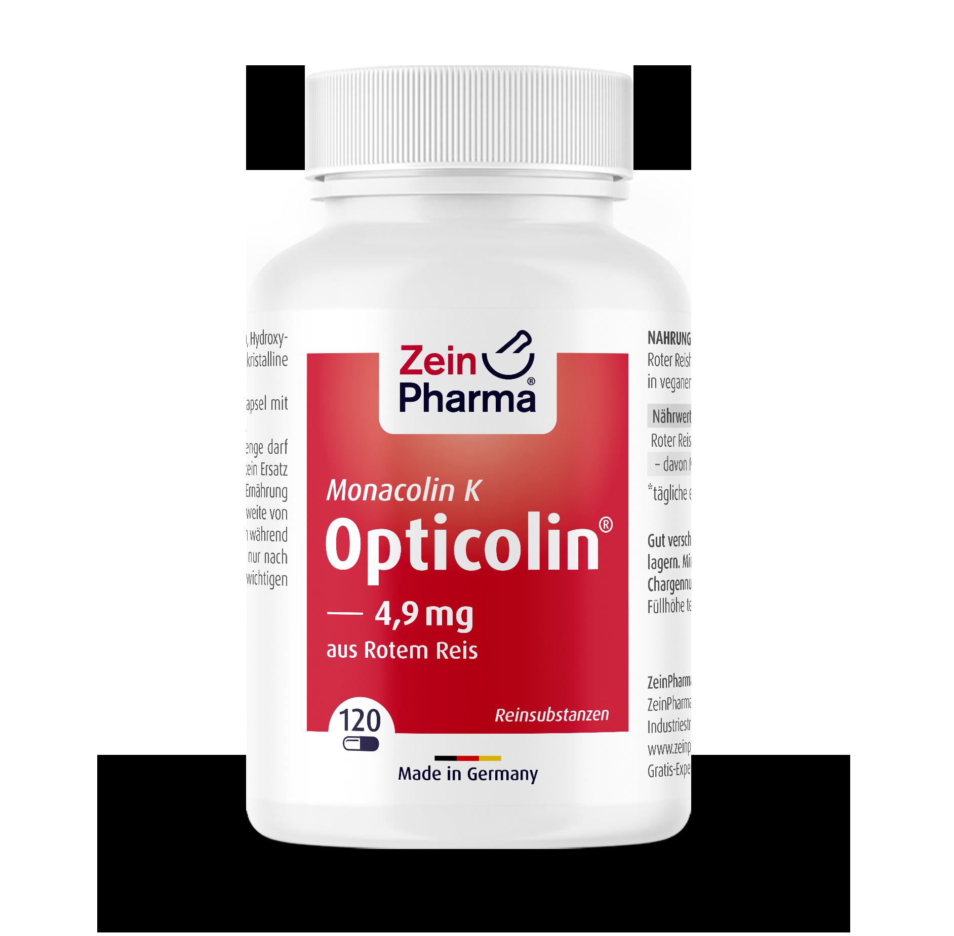 Monacolin K Opticolin® Kapseln