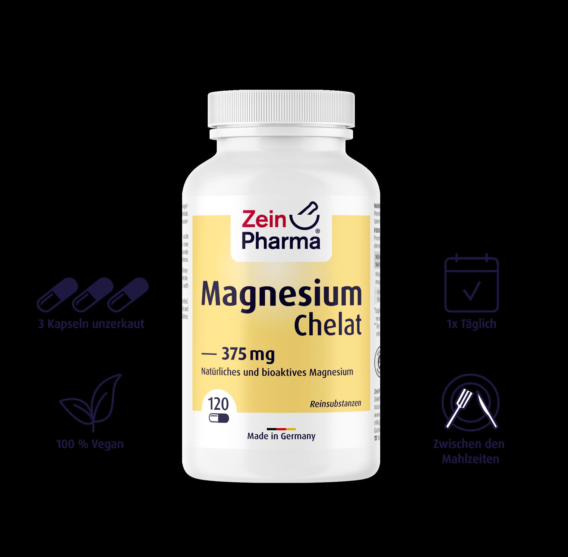 Magnesiumchelat Kapseln