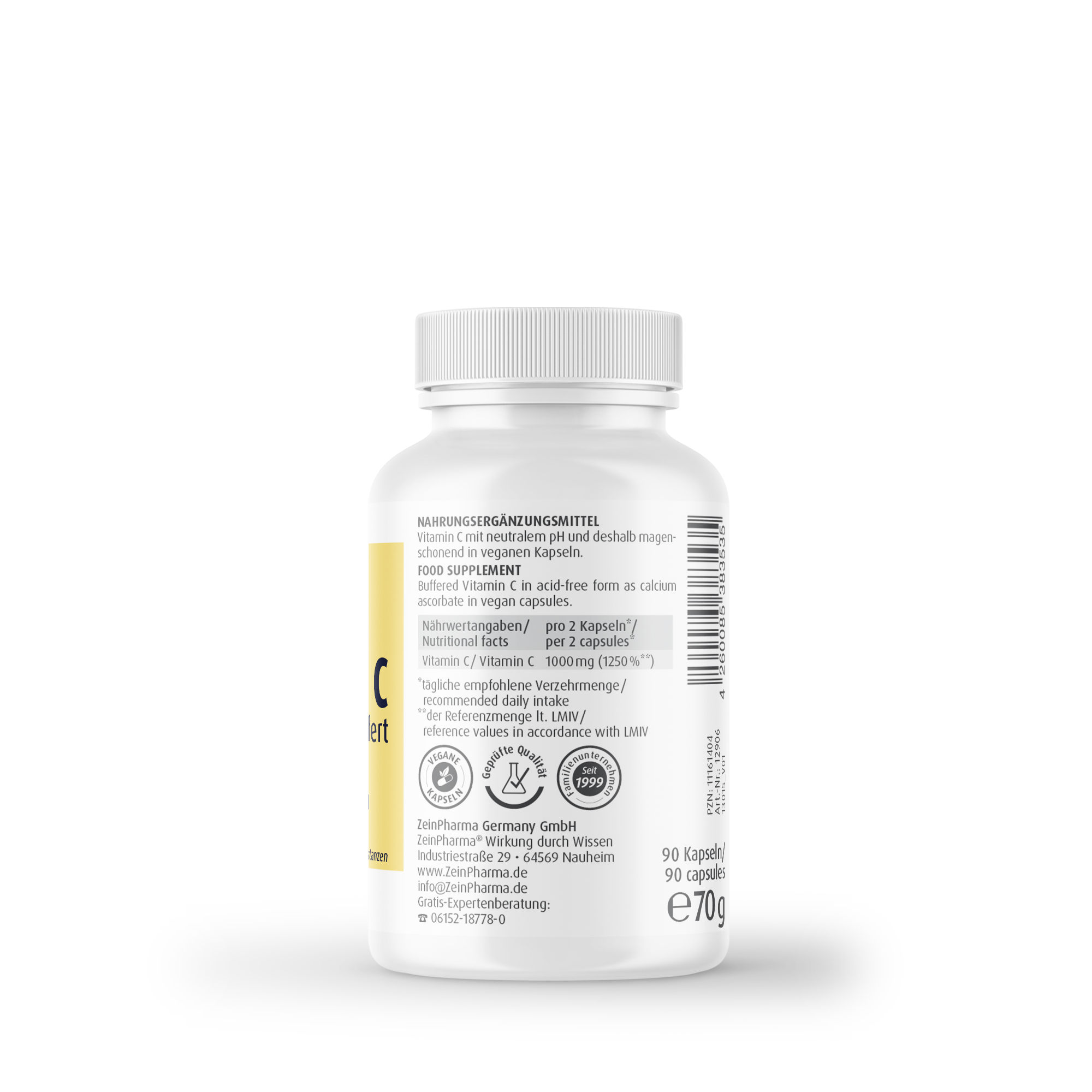 Vitamin C gepuffert 500 mg