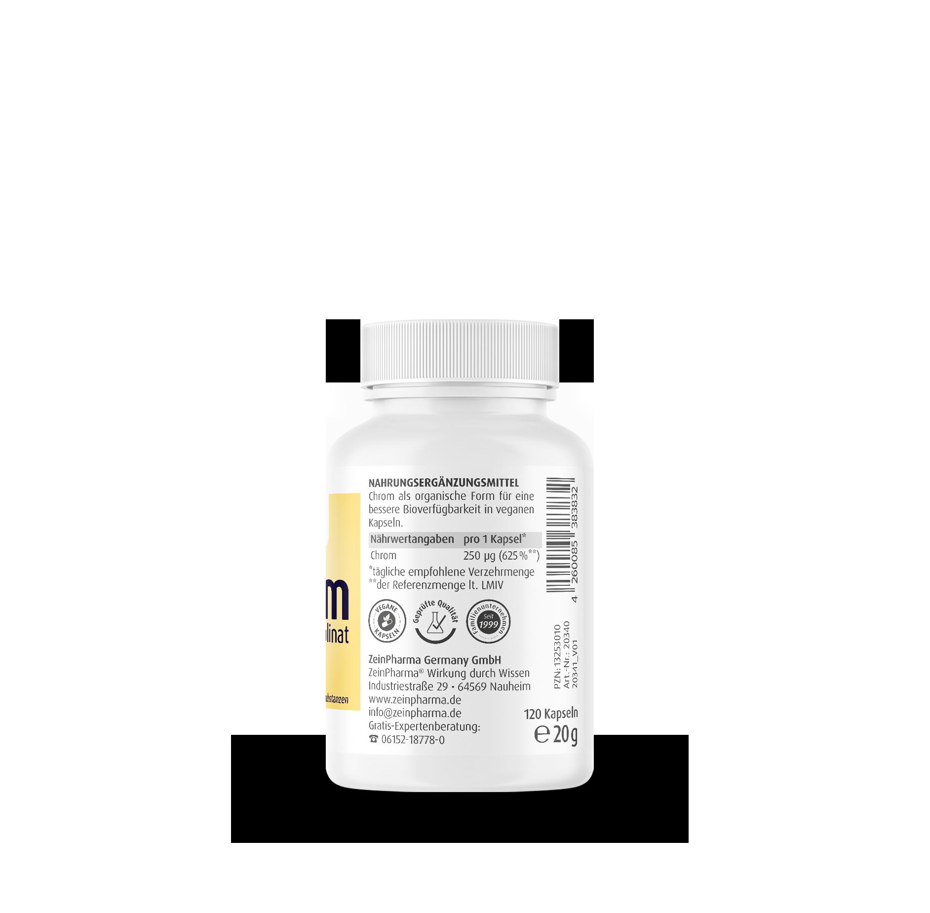 Chrompiccolinat 250 µg