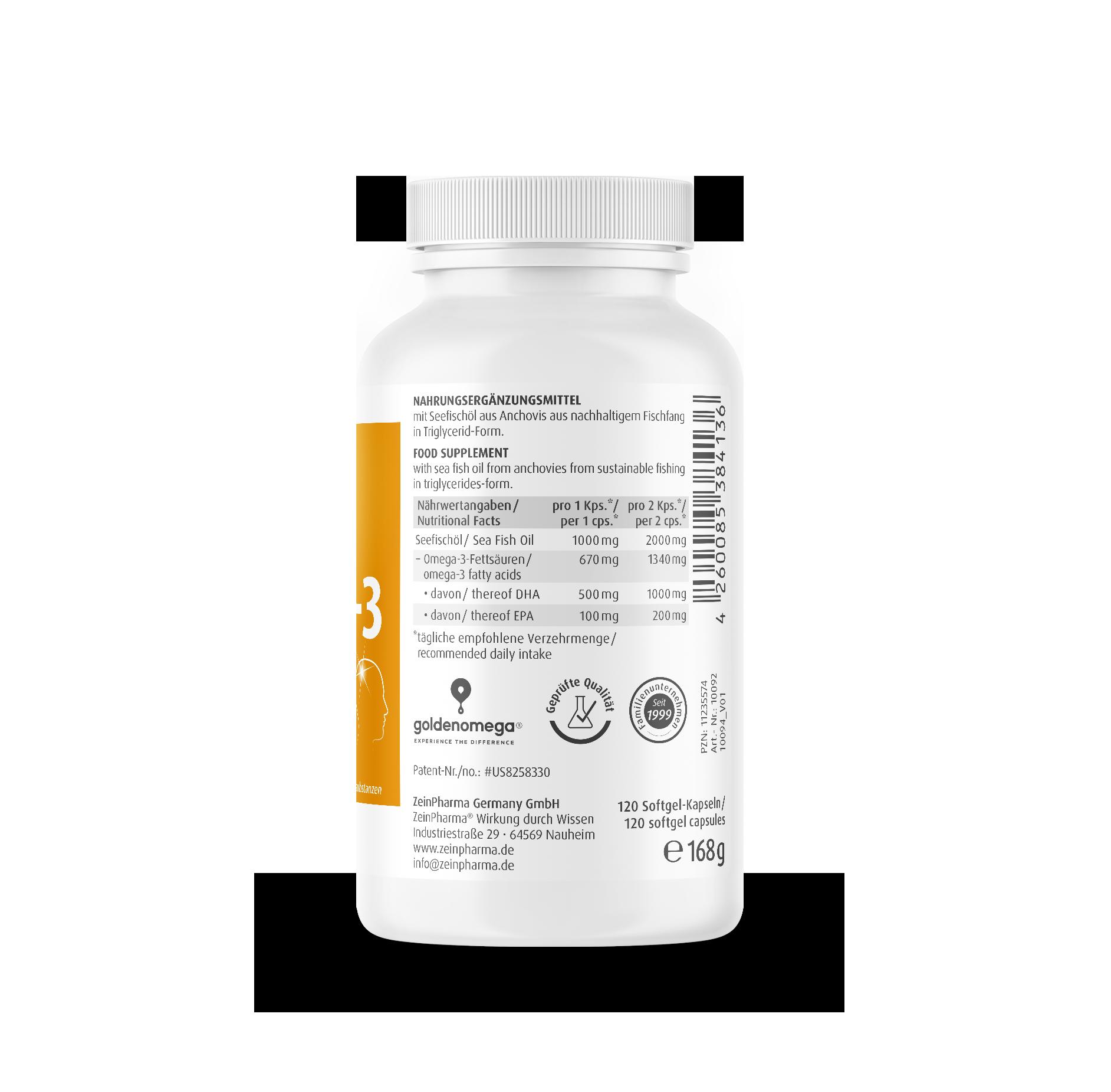 Omega-3 Gold - Brain Edition