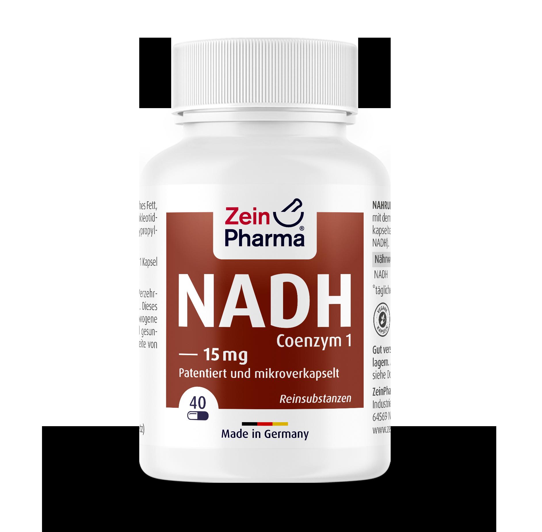 NADH (Coenzym 1) Kapseln