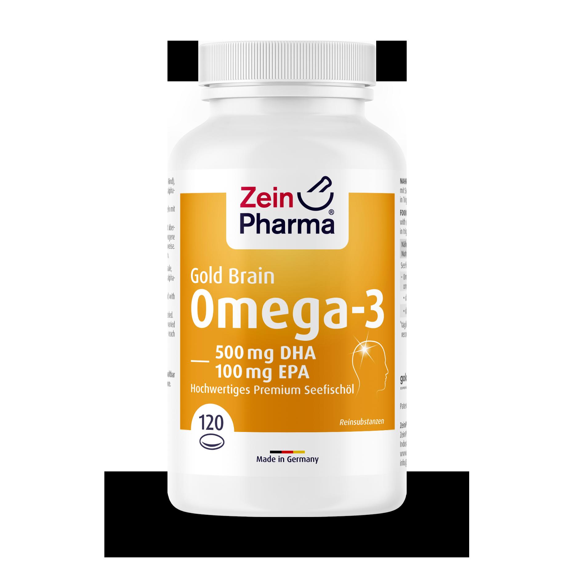 Omega-3 Gold Kapseln - Brain Edition