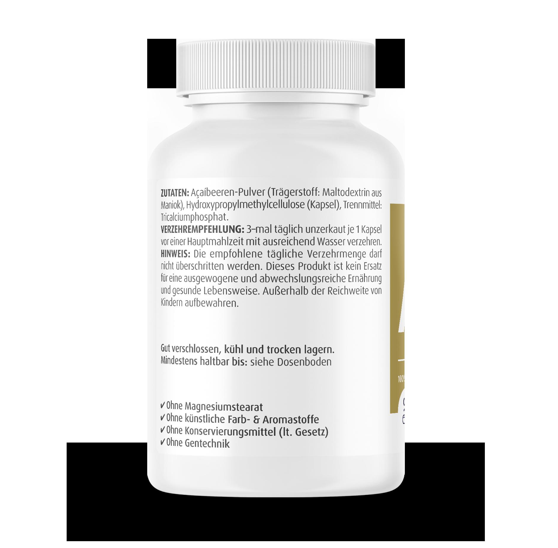 Açaí Kapseln 425 mg