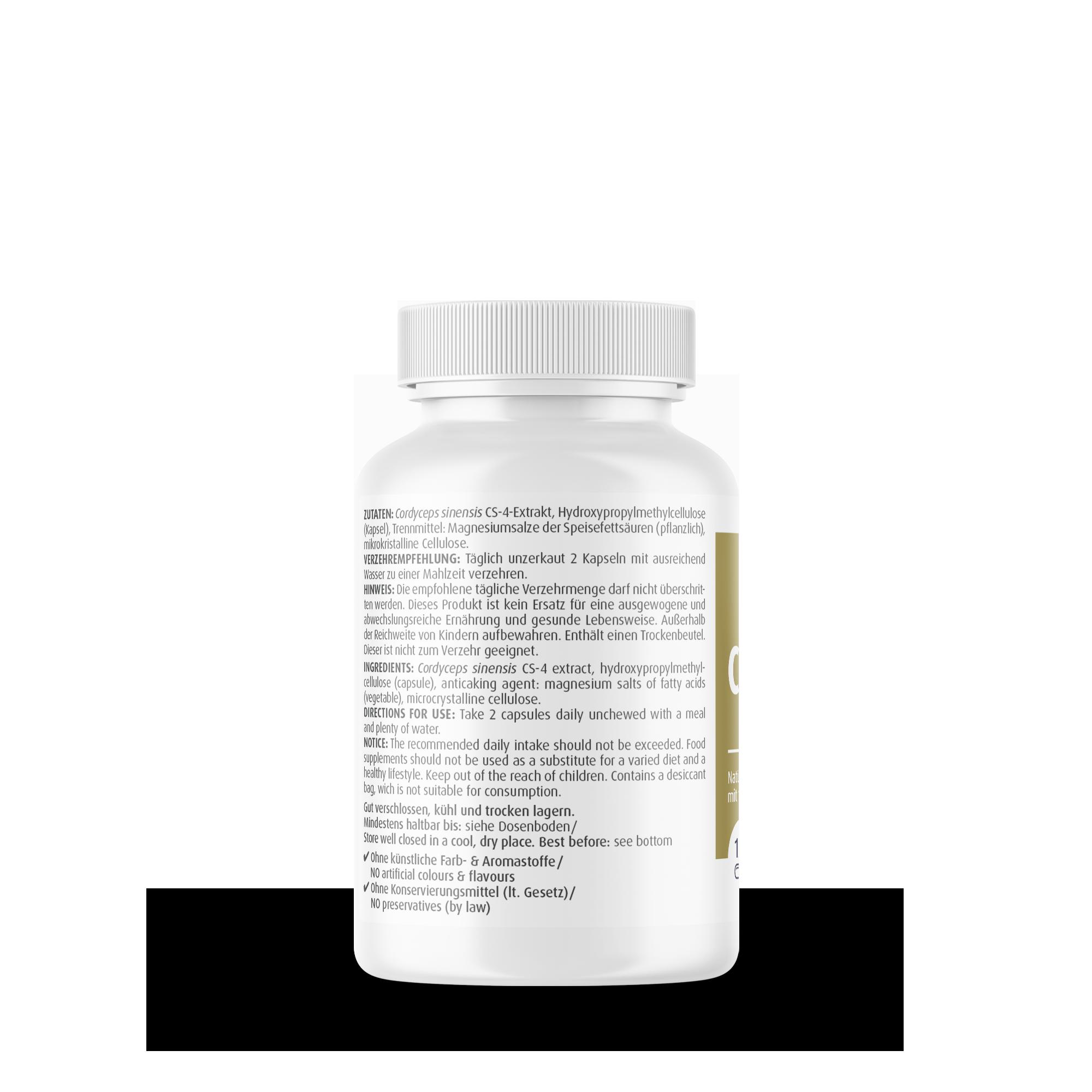 Cordyceps CS-4 500 mg