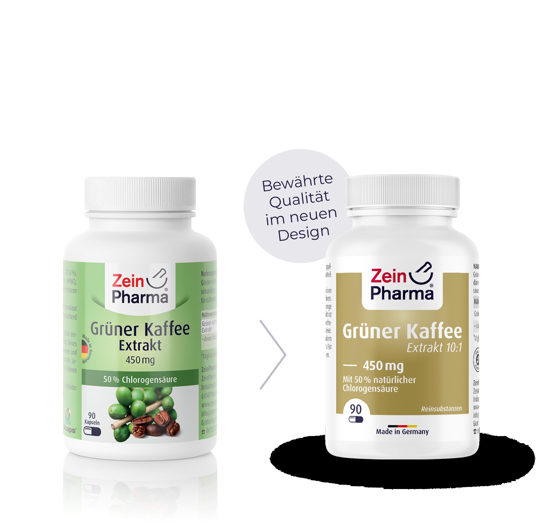 Grüner Kaffee Extrakt Kapseln