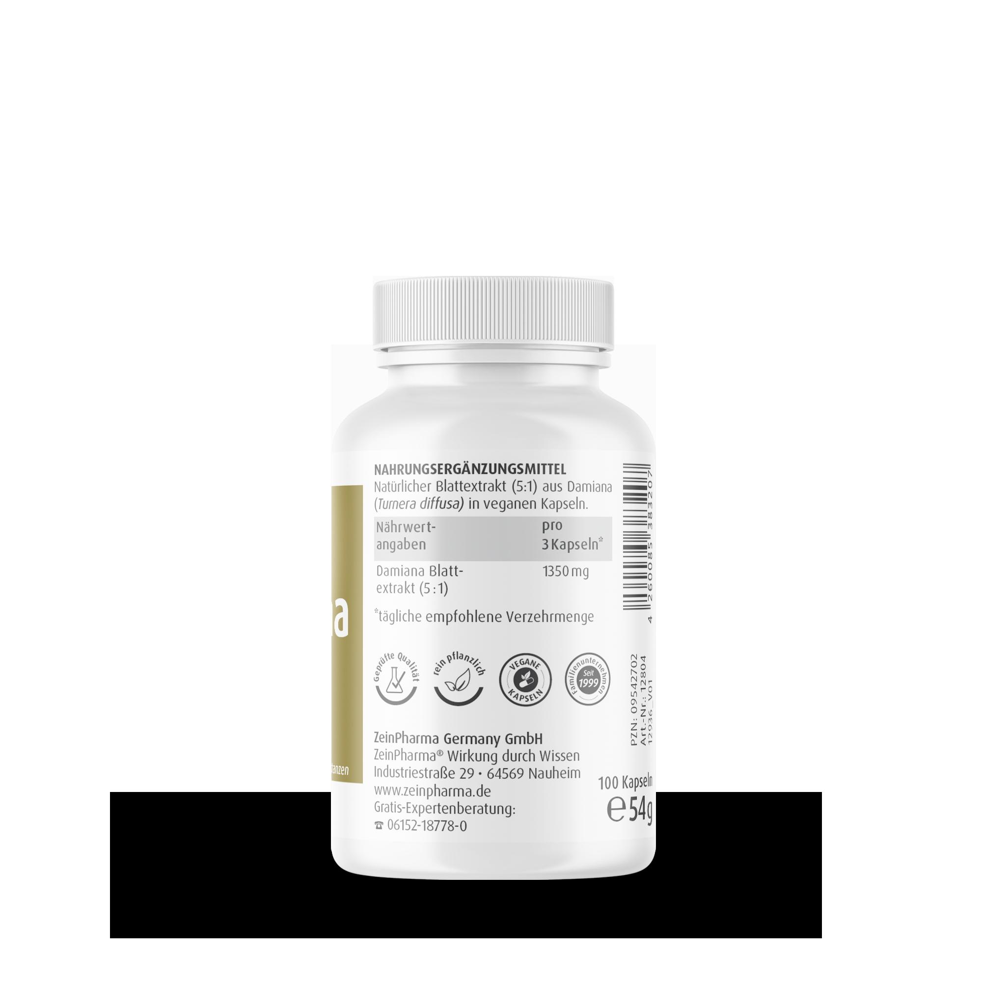 Damiana 450 mg