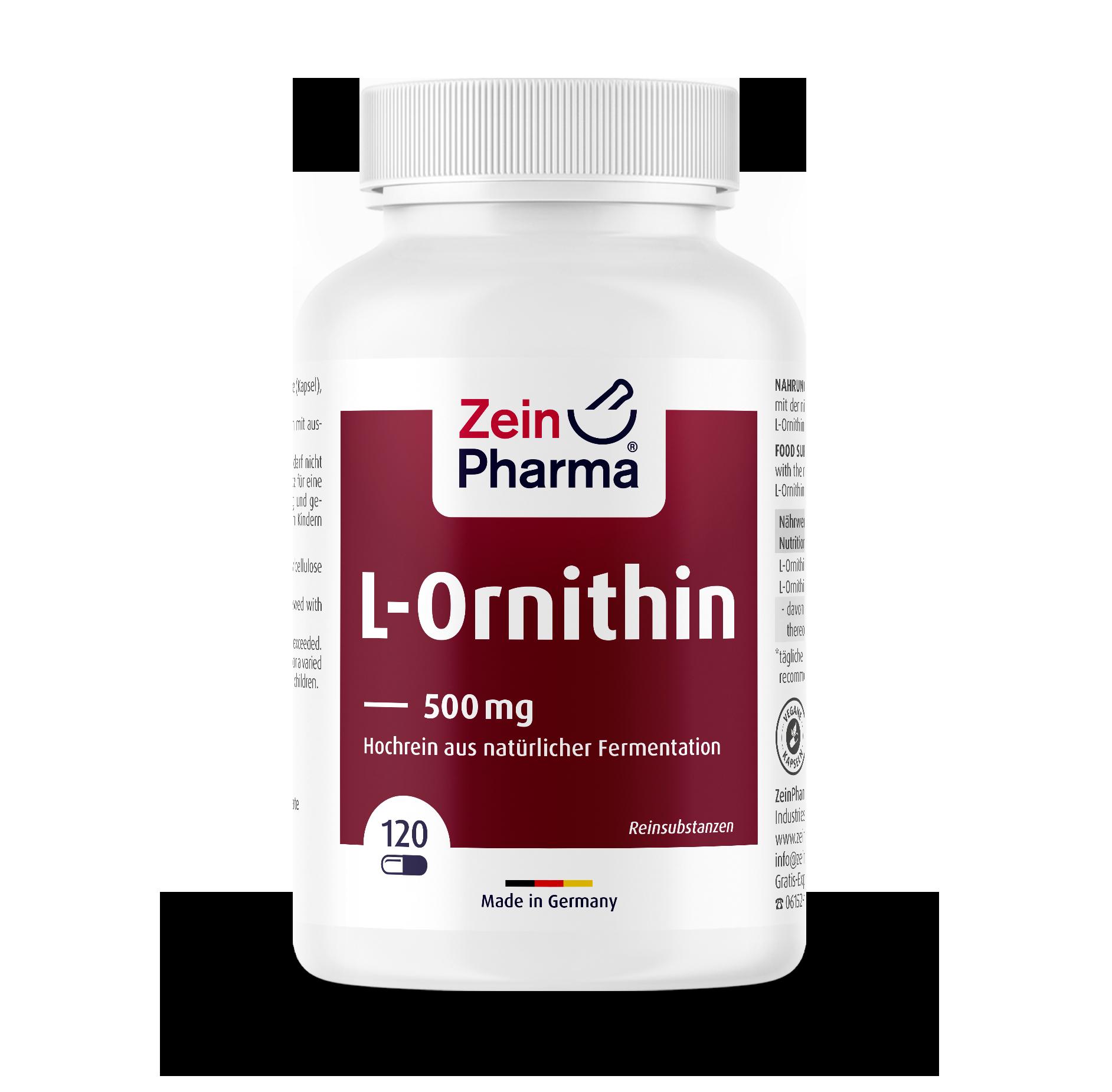 L-Ornithin Kapseln