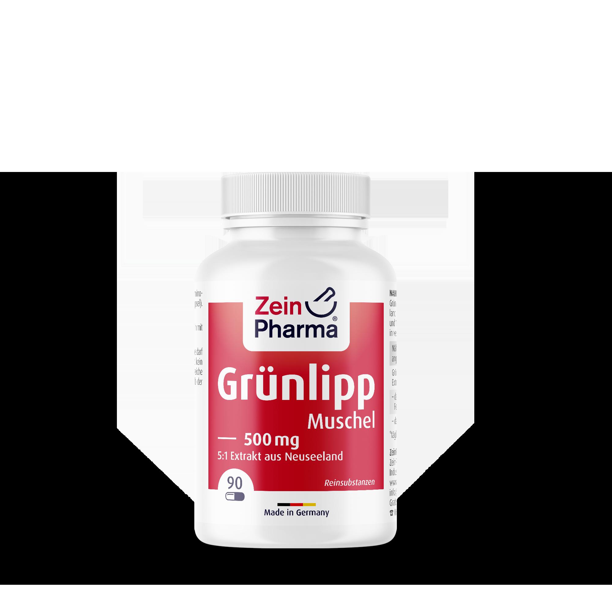 Grünlippmuschel 500 mg