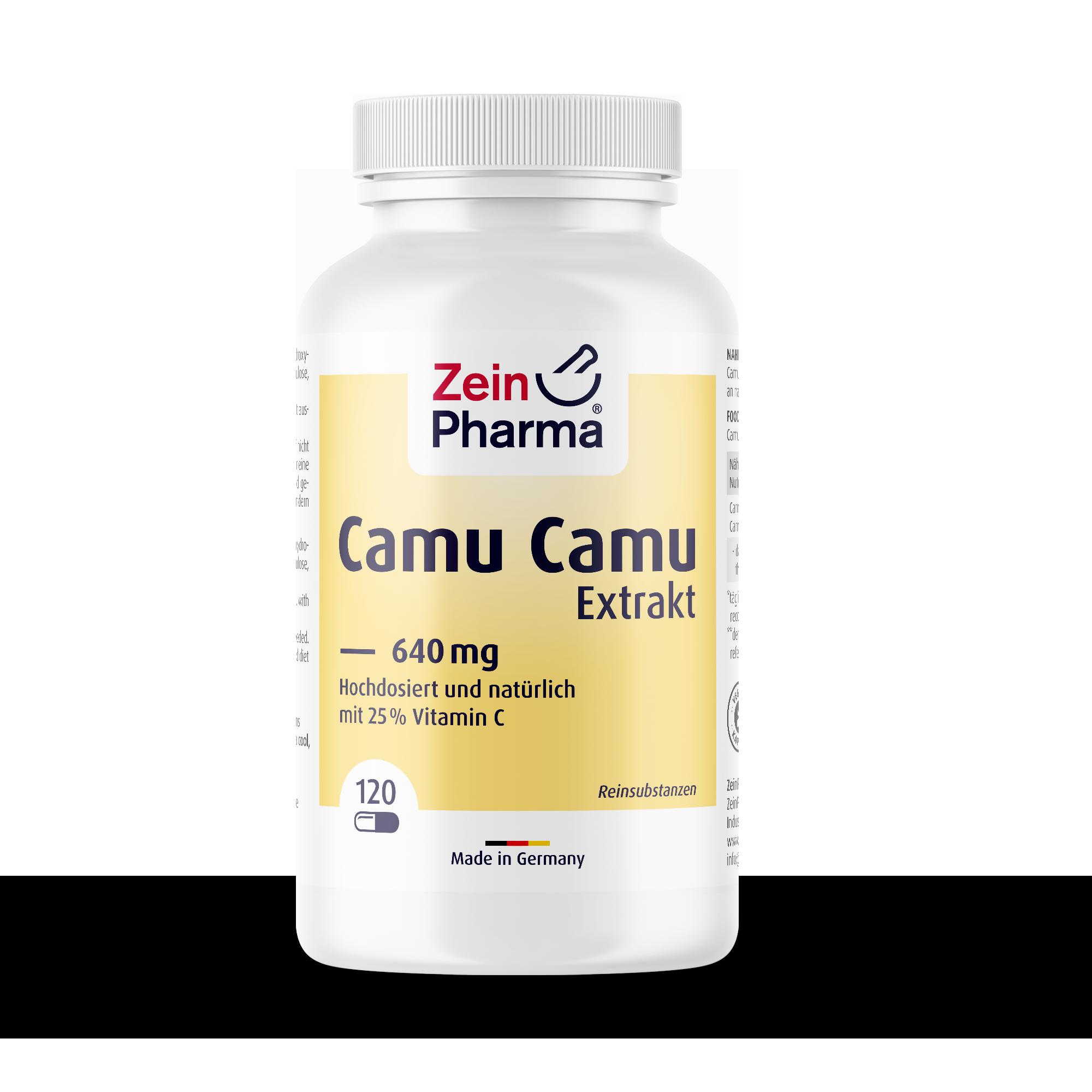 Camu Camu Extrakt 640 mg