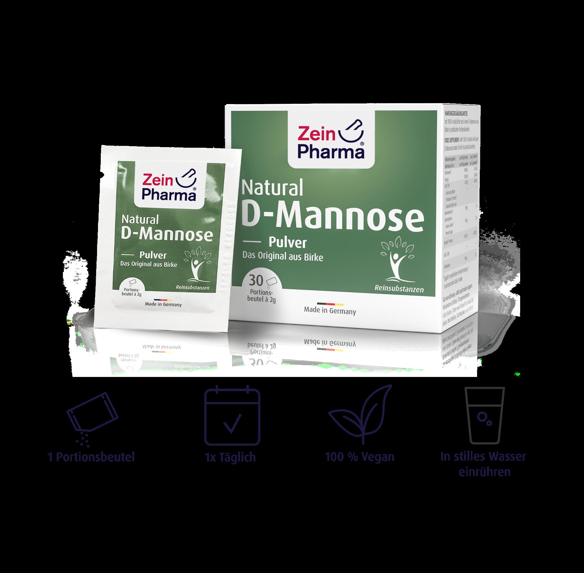 Natural D-Mannose Sachets