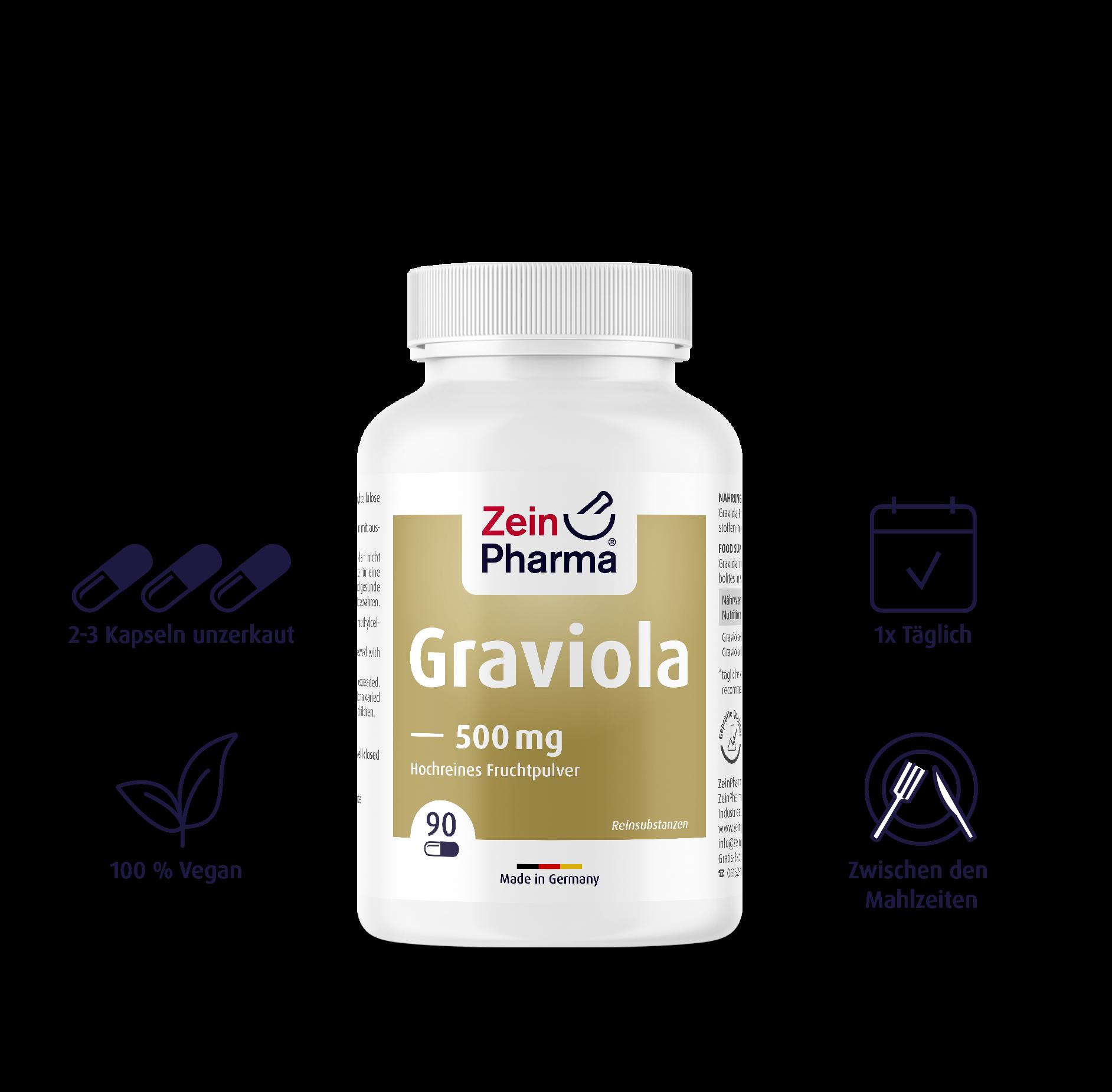 Graviola Kapseln 500 mg