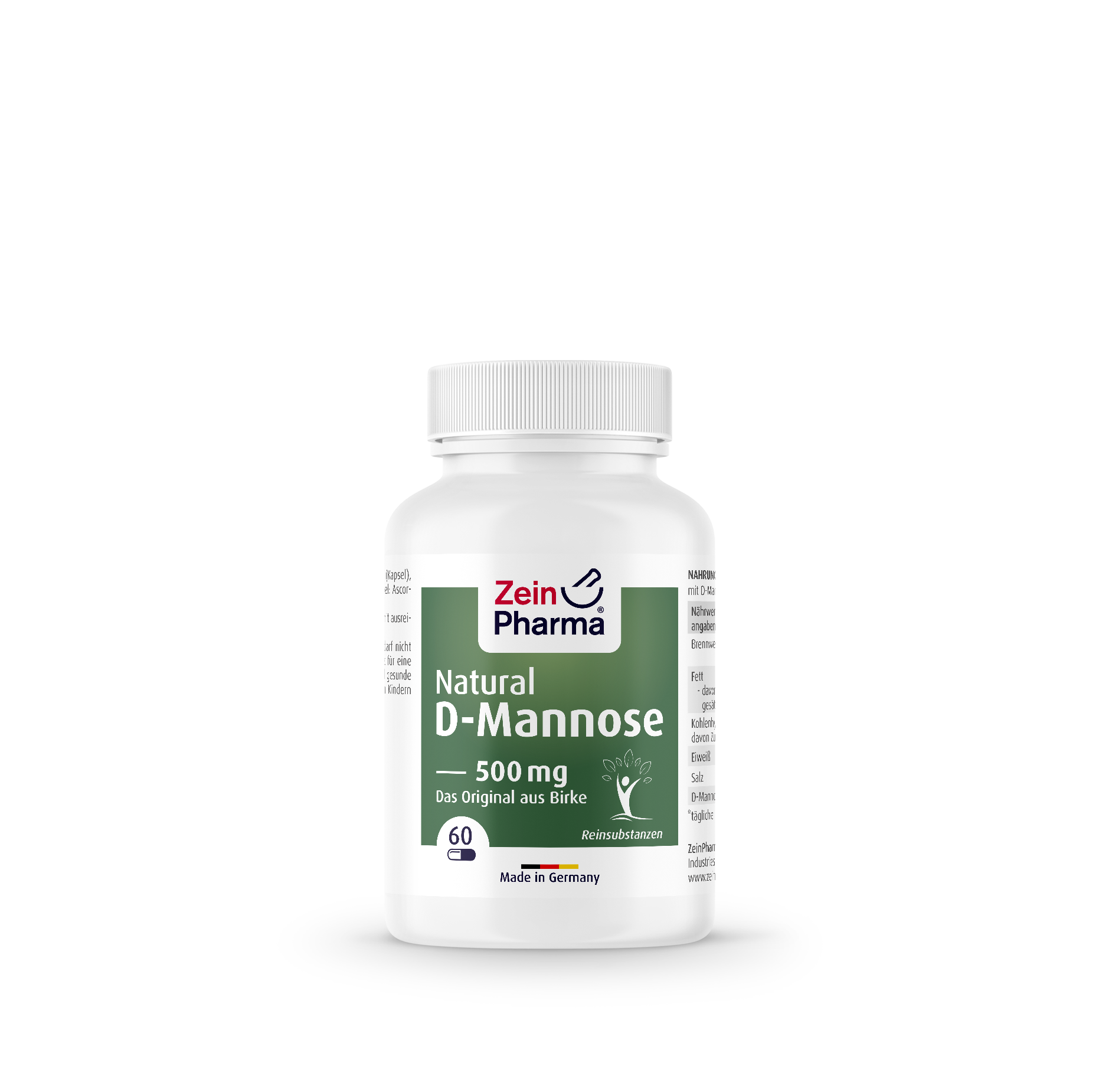 Natural D-Mannose 500 mg