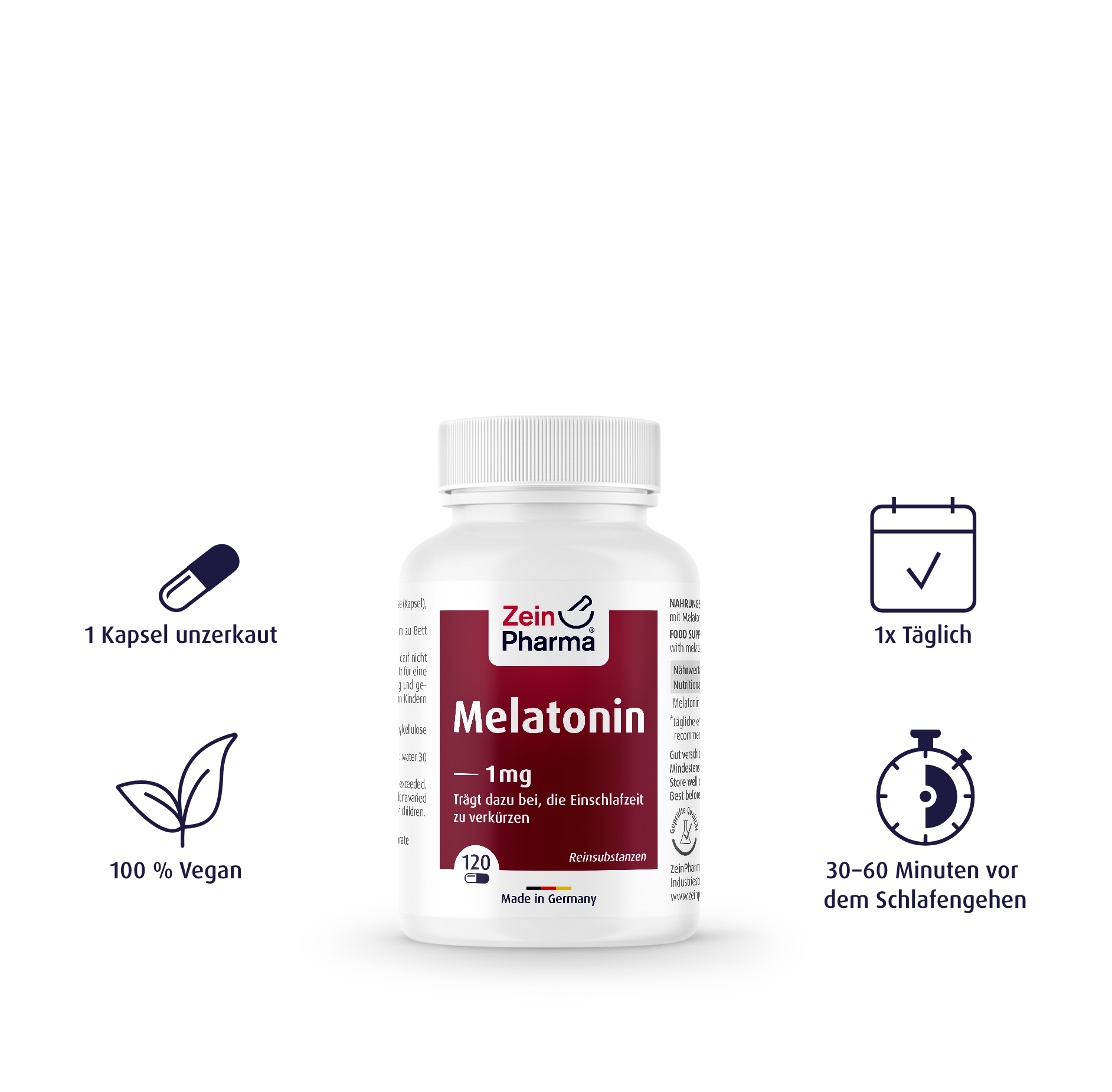 Melatonin Kapseln 1 mg