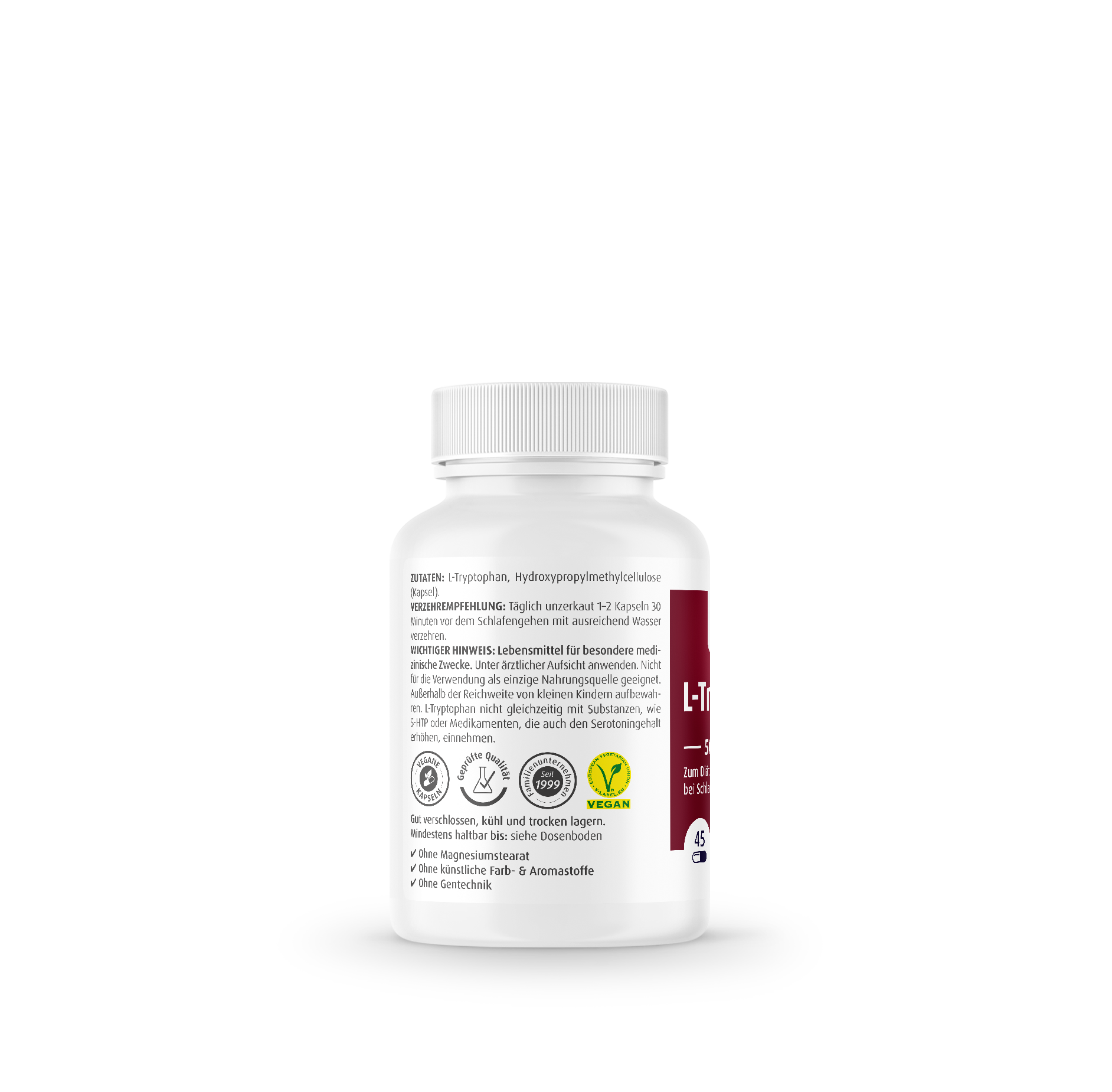 L-Tryptophan 500 mg