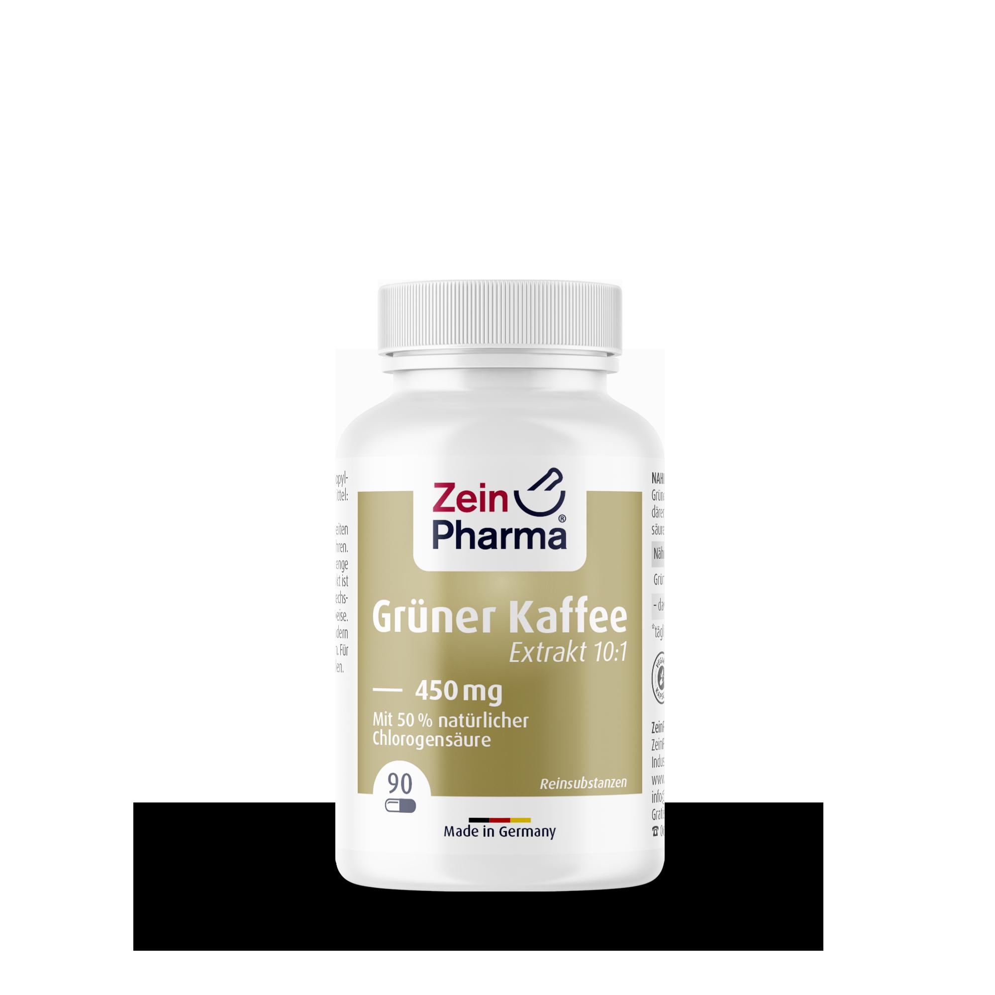Grüner Kaffee Extrakt 450 mg