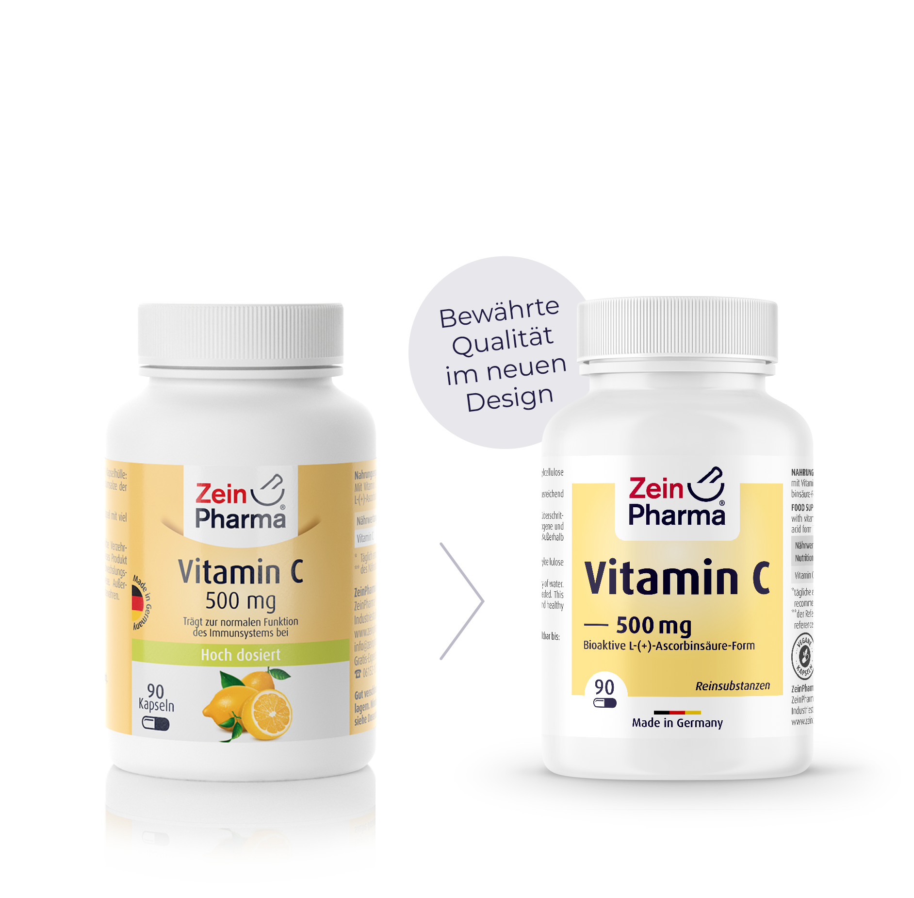 Vitamin C 500 mg Kapseln