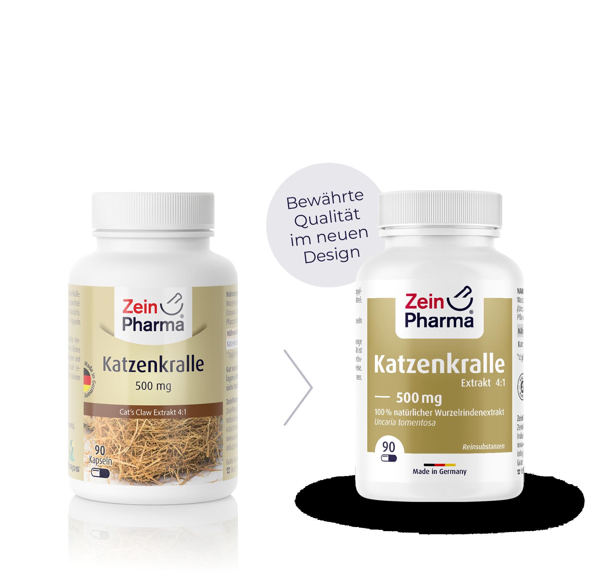Katzenkralle Extrakt Kapseln 500 mg