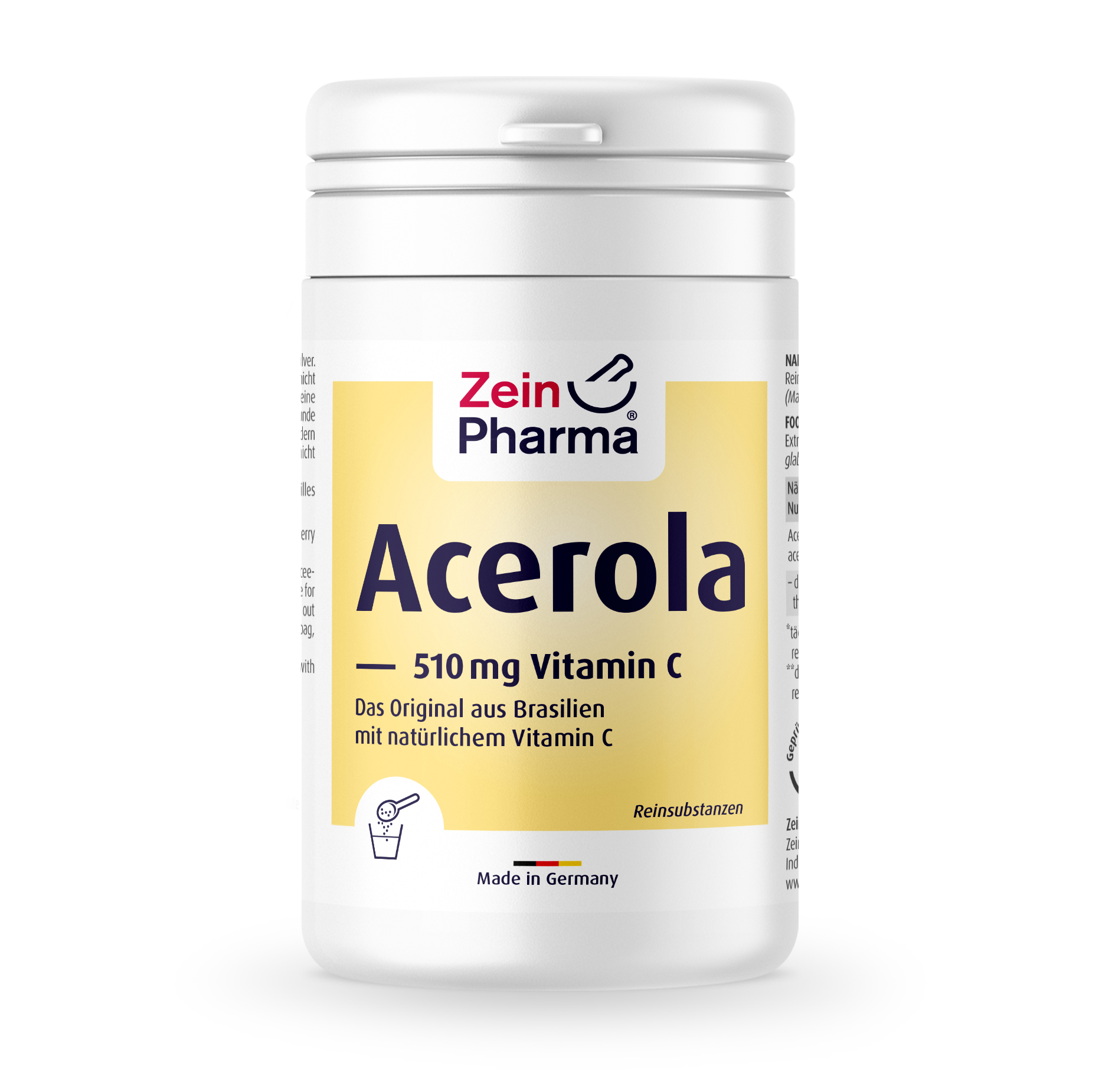Acerola Vitamin C Pulver 510 mg