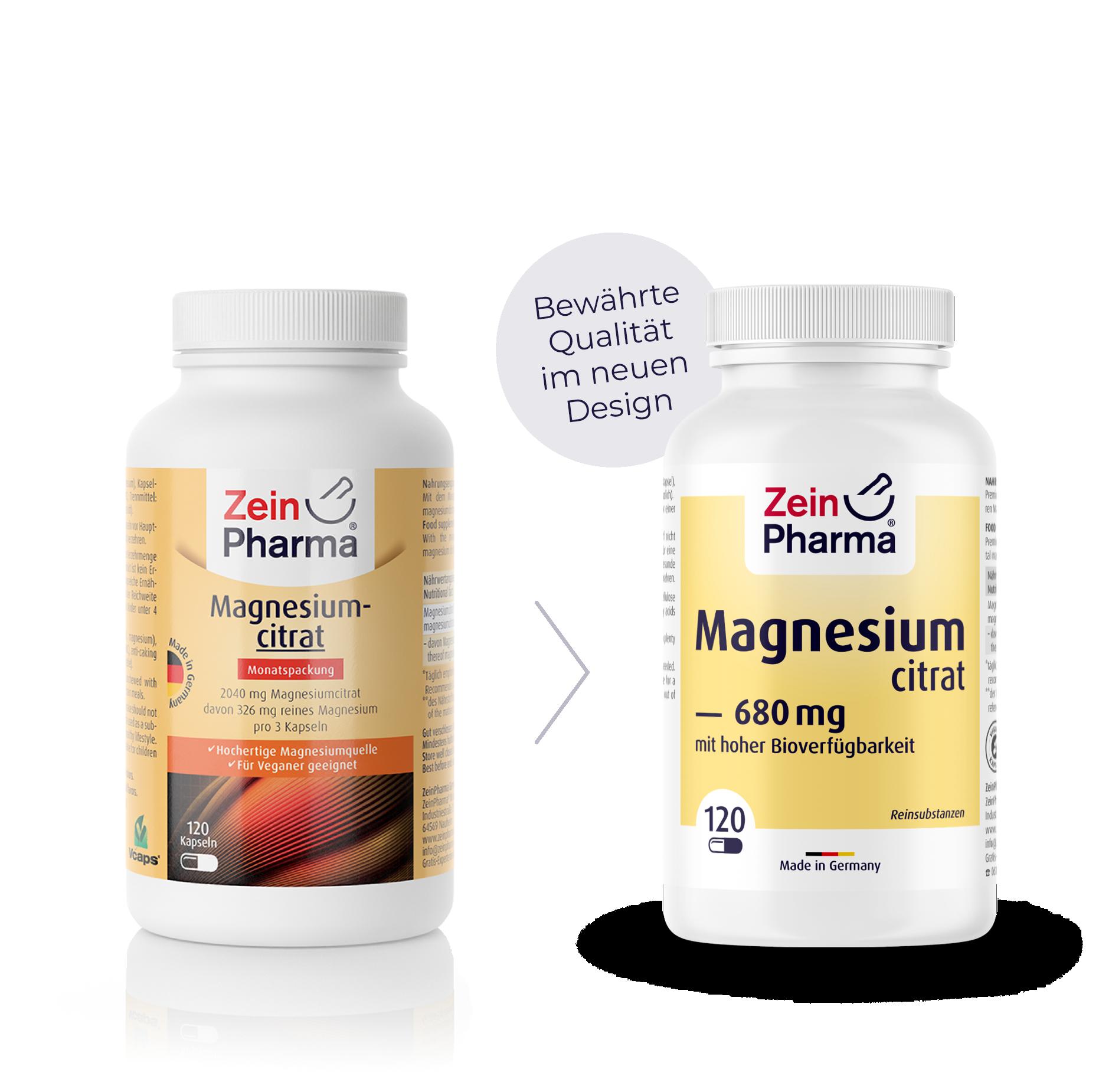 Magnesiumcitrat Kapseln