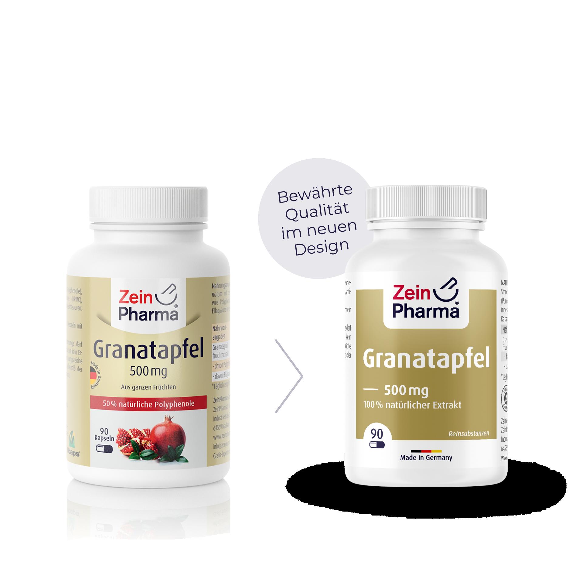 Granatapfel Kapseln