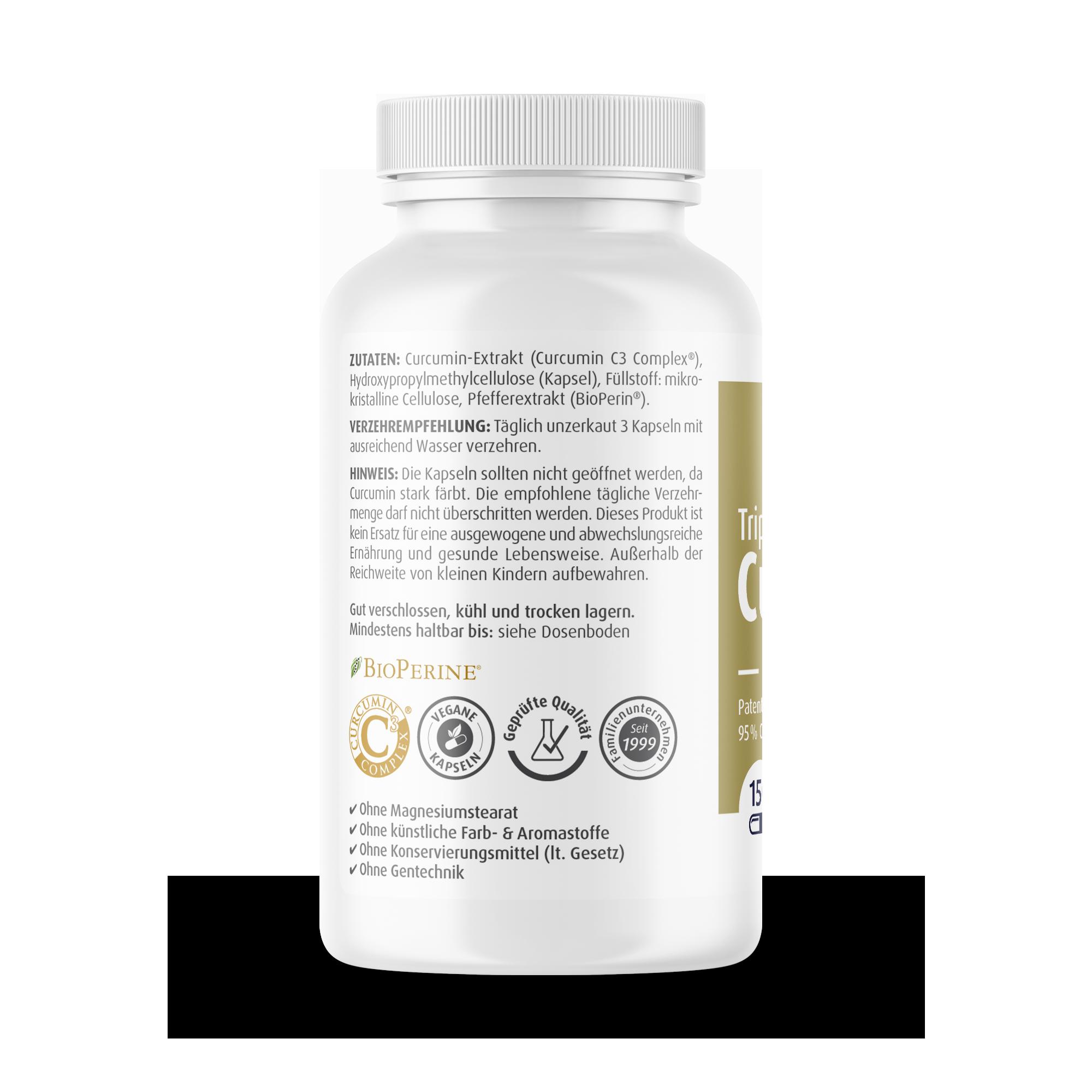 Curcumin-Triplex 500 mg