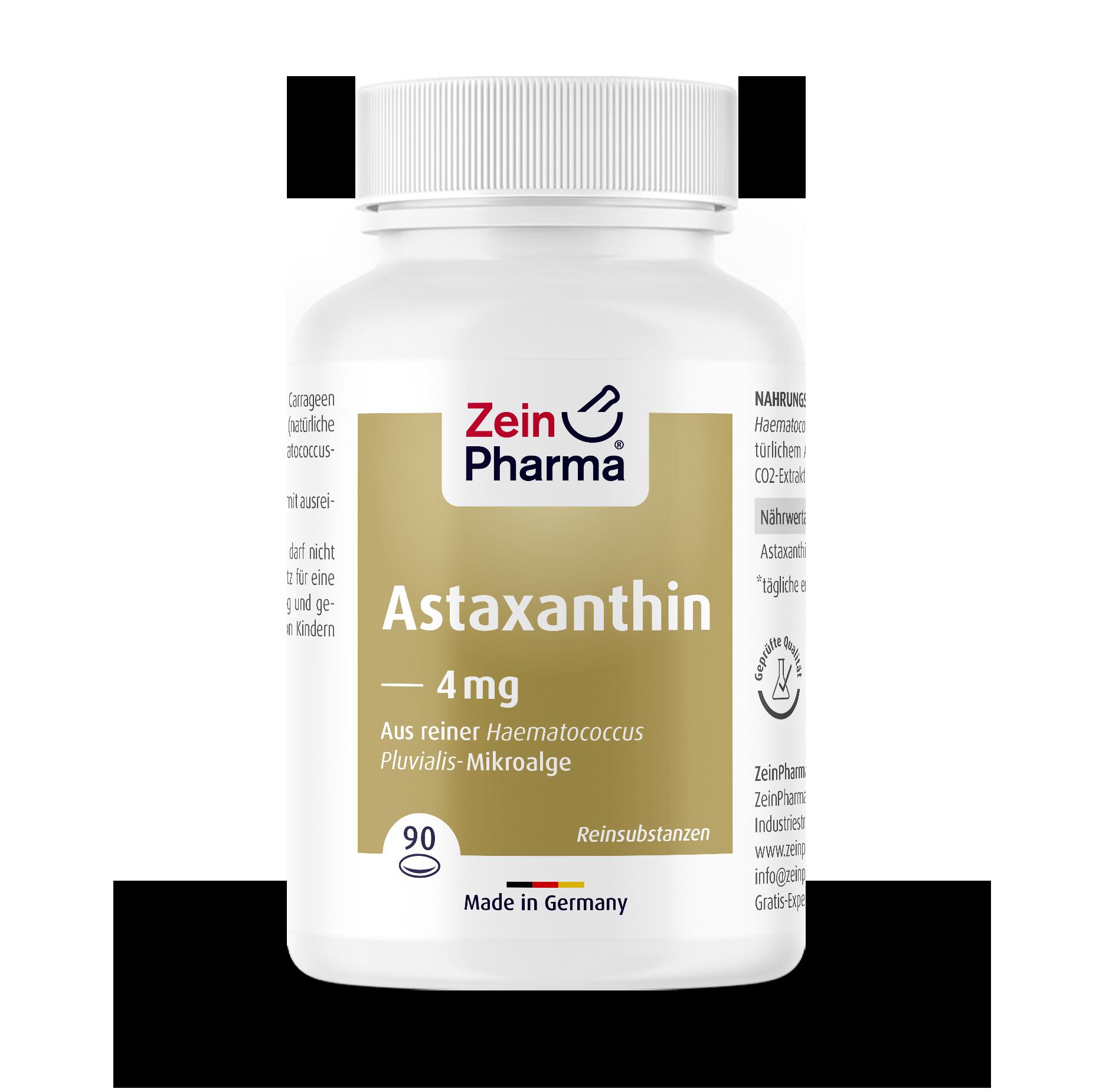 Astaxanthin Softgel-Kapseln