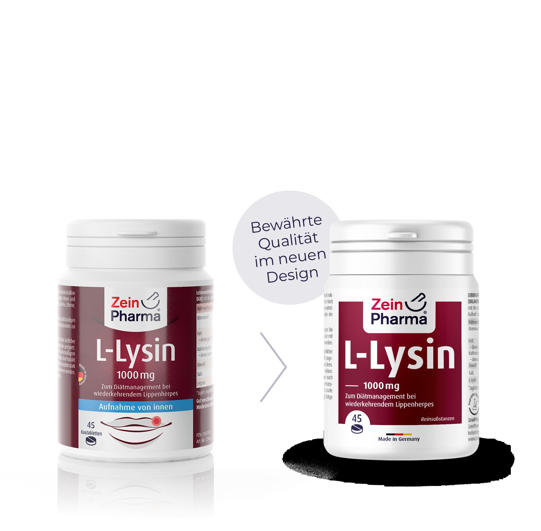L-Lysin Kautabletten