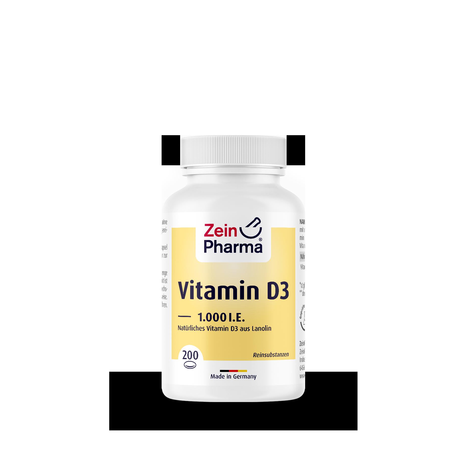 Vitamin D3 1.000 I.E.
