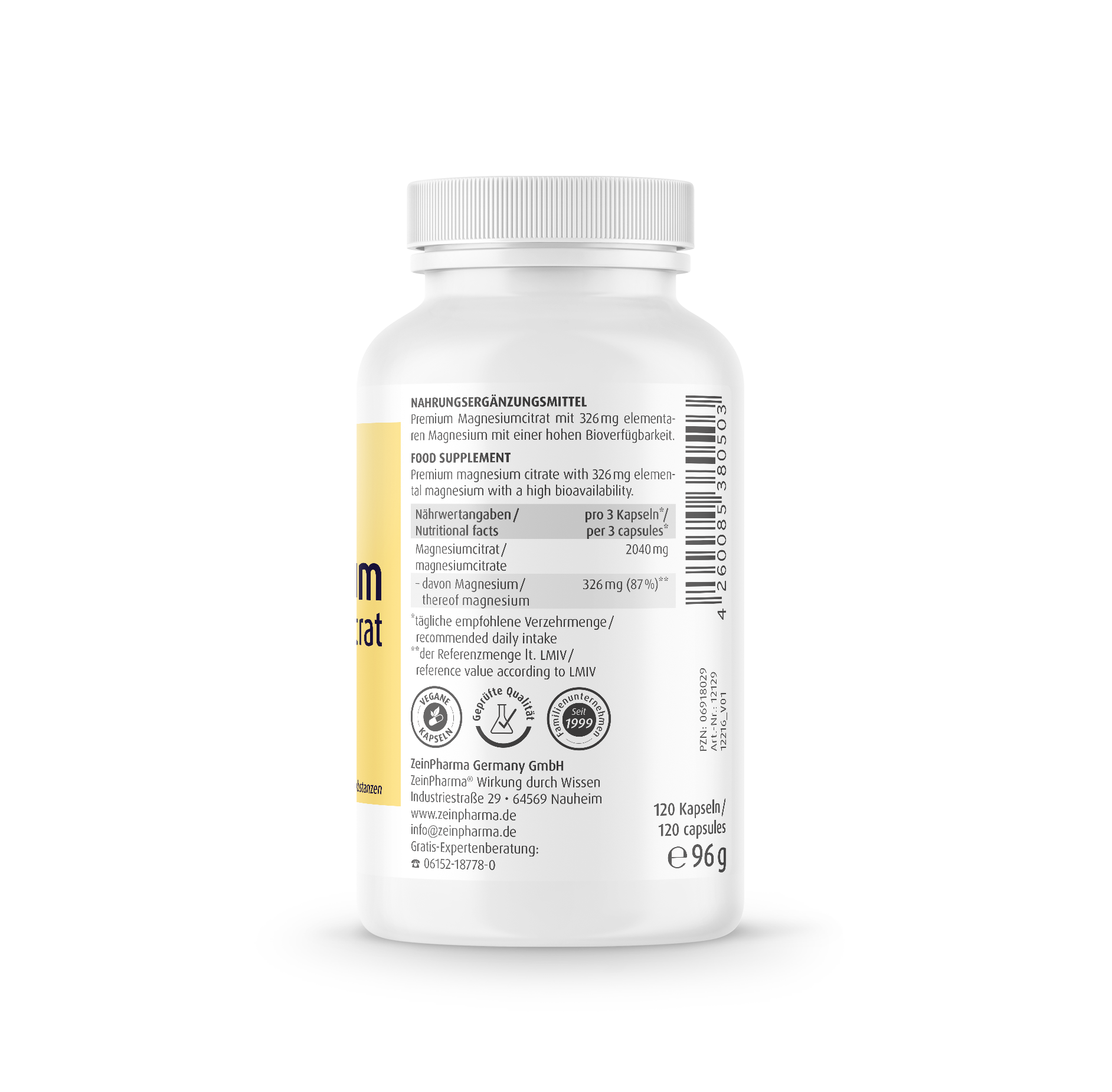Magnesiumcitrat 680 mg