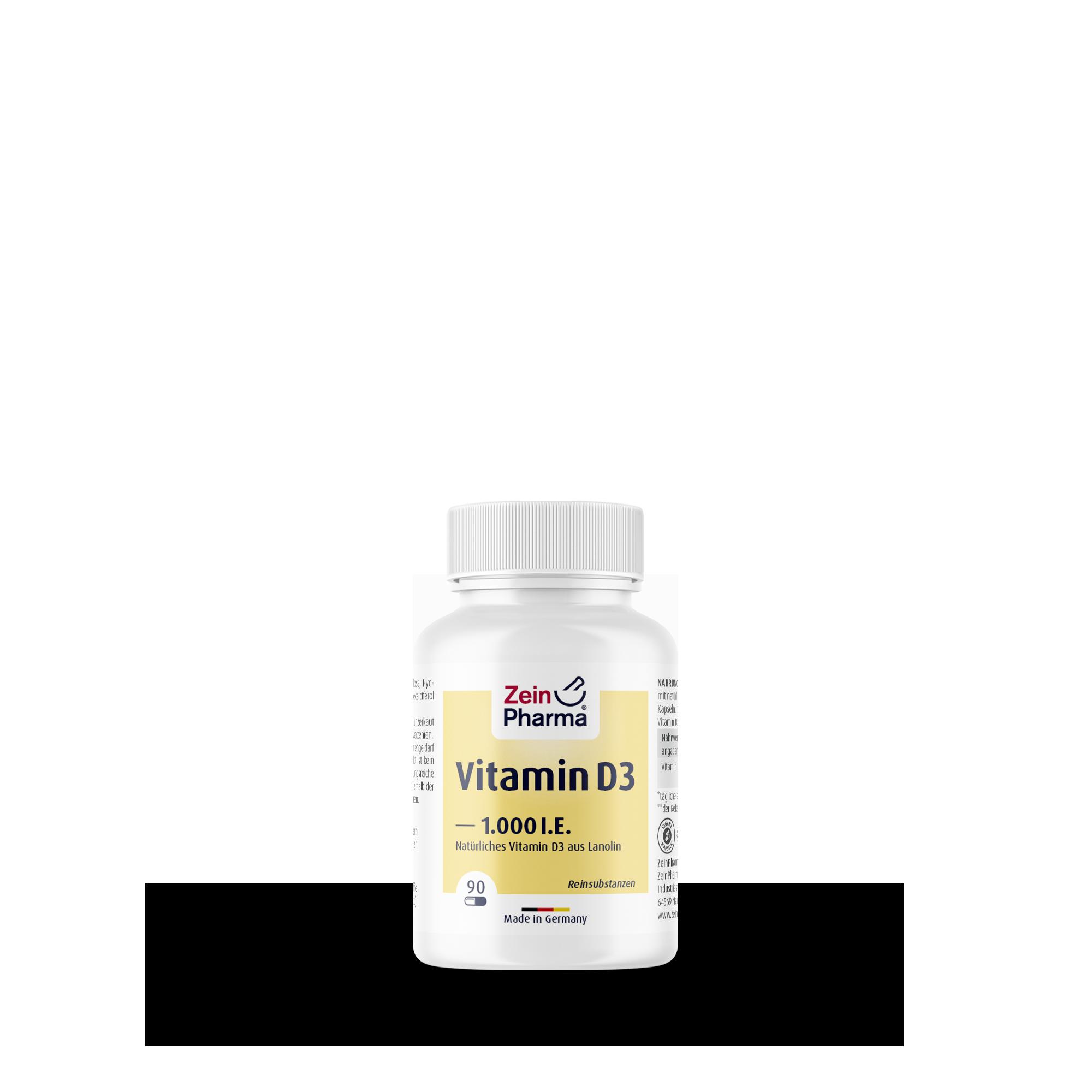 Vitamin D3 1000 I.E.