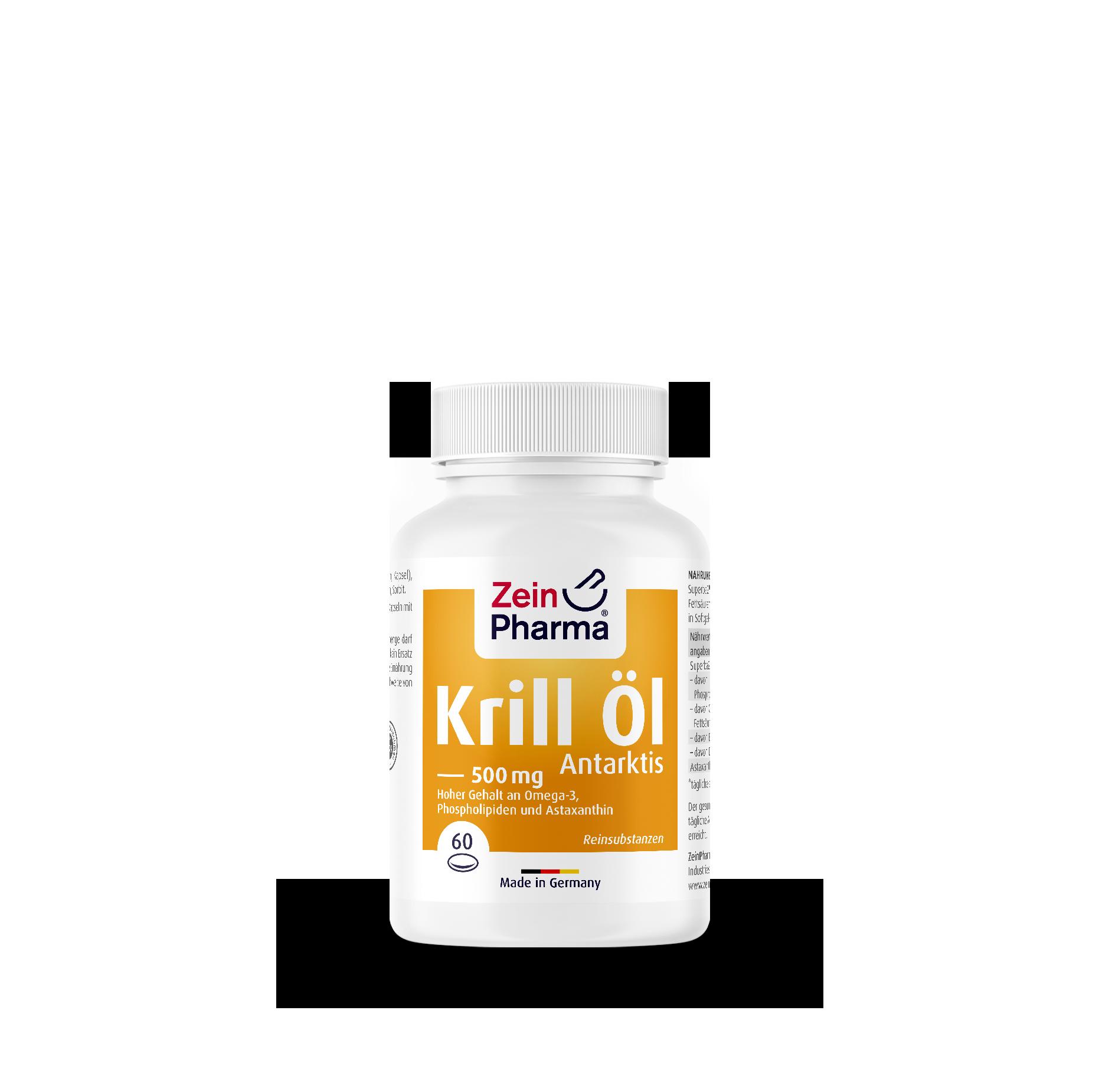 Krill Öl Antarktis 500 mg