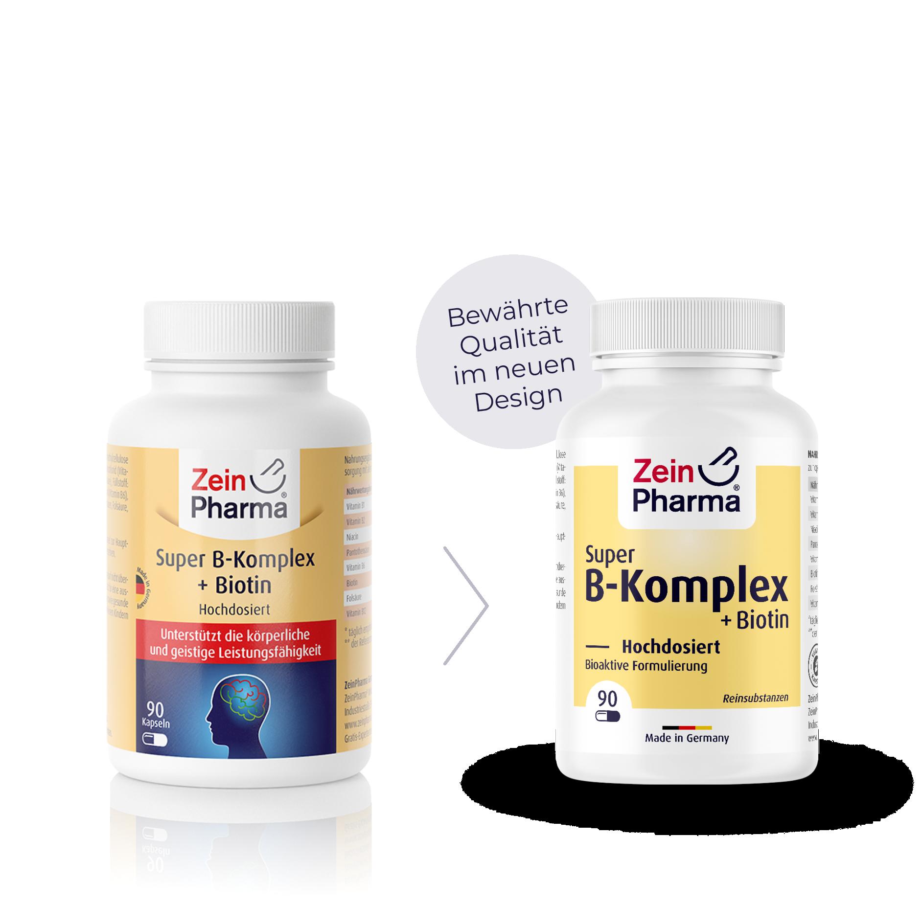 Super B-Komplex + Biotin Kapseln