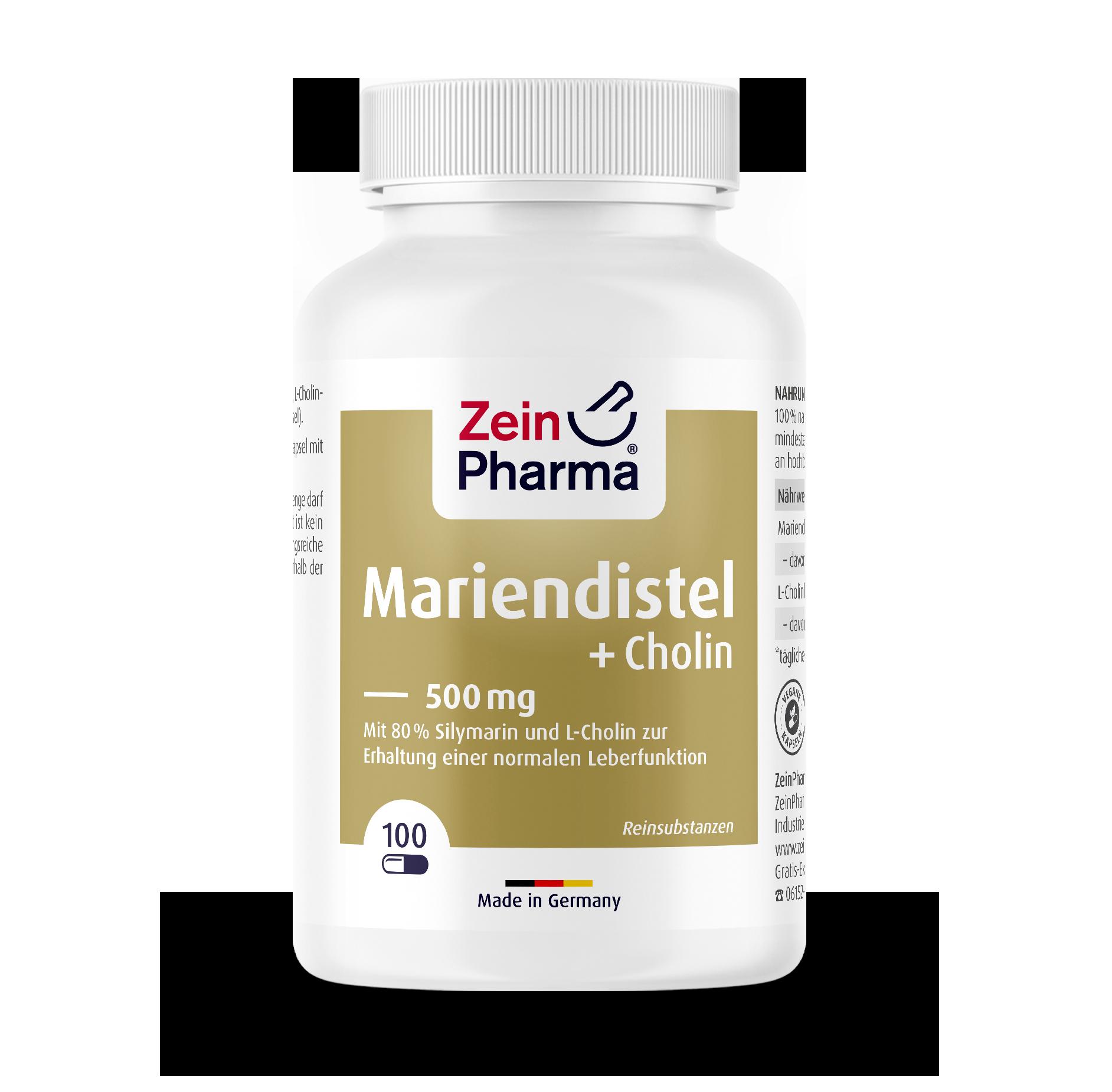 Mariendistel + Cholin Kapseln
