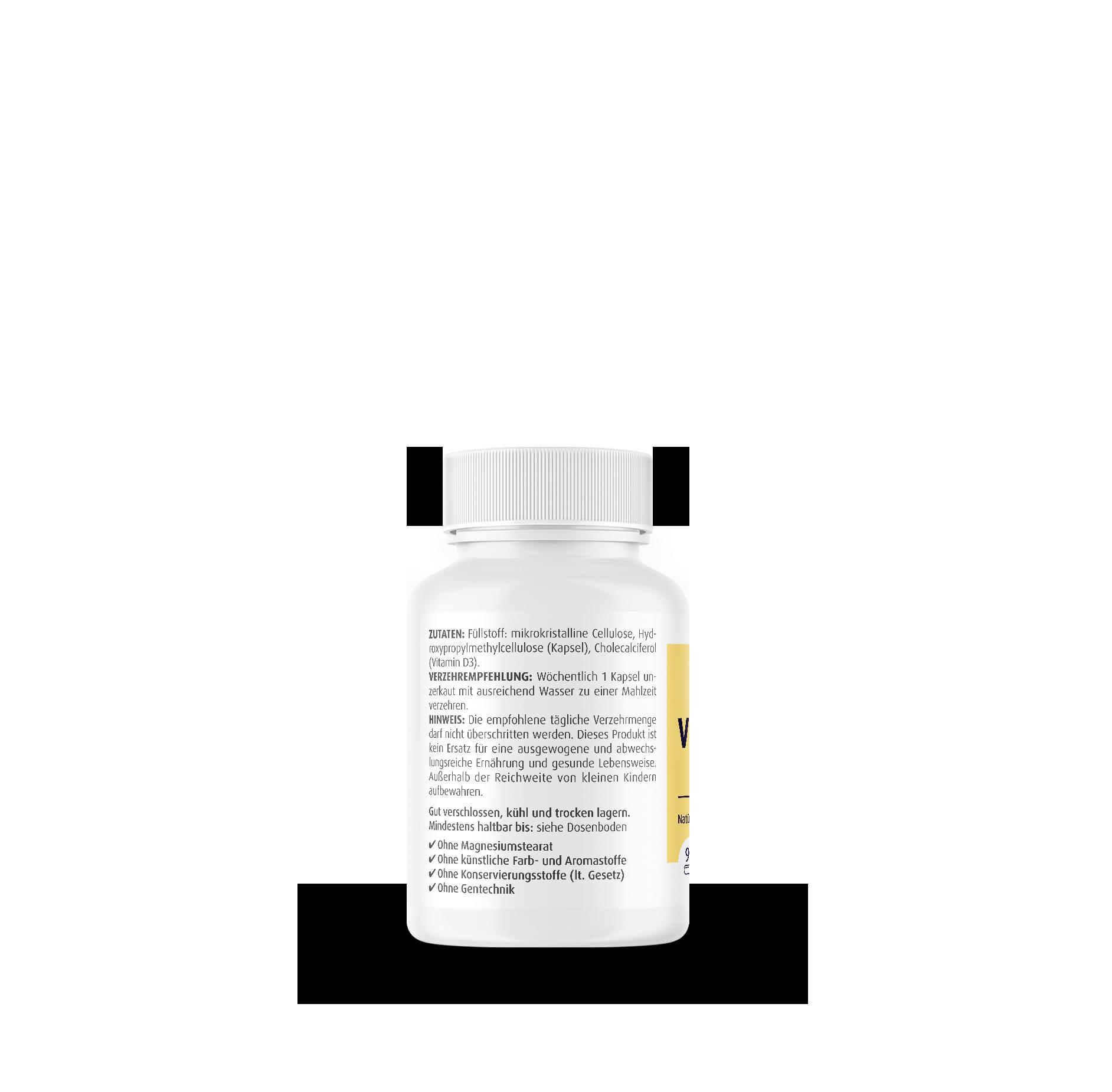 Vitamin D3 5000 I.E. Wochendepot
