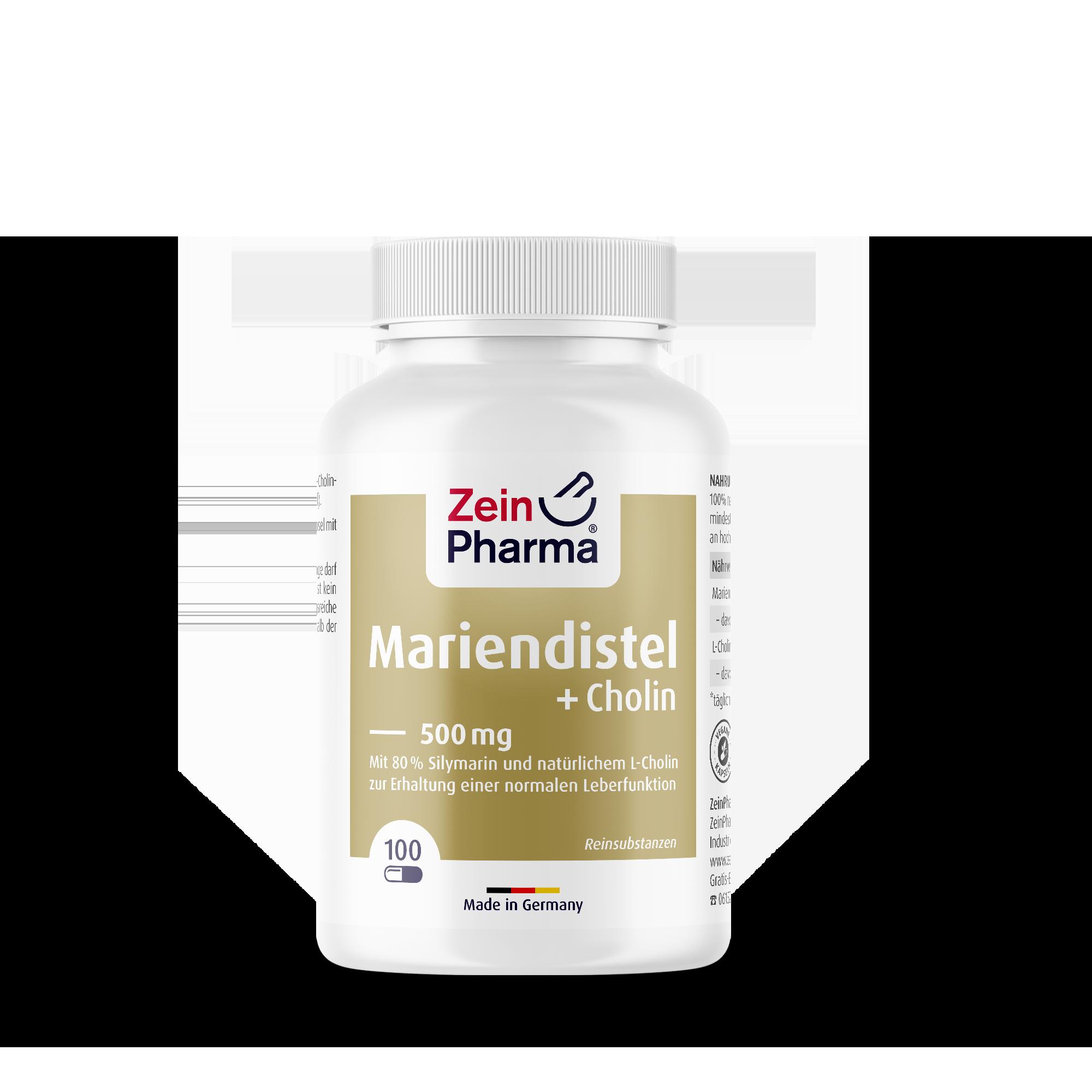 Mariendistel + Cholin