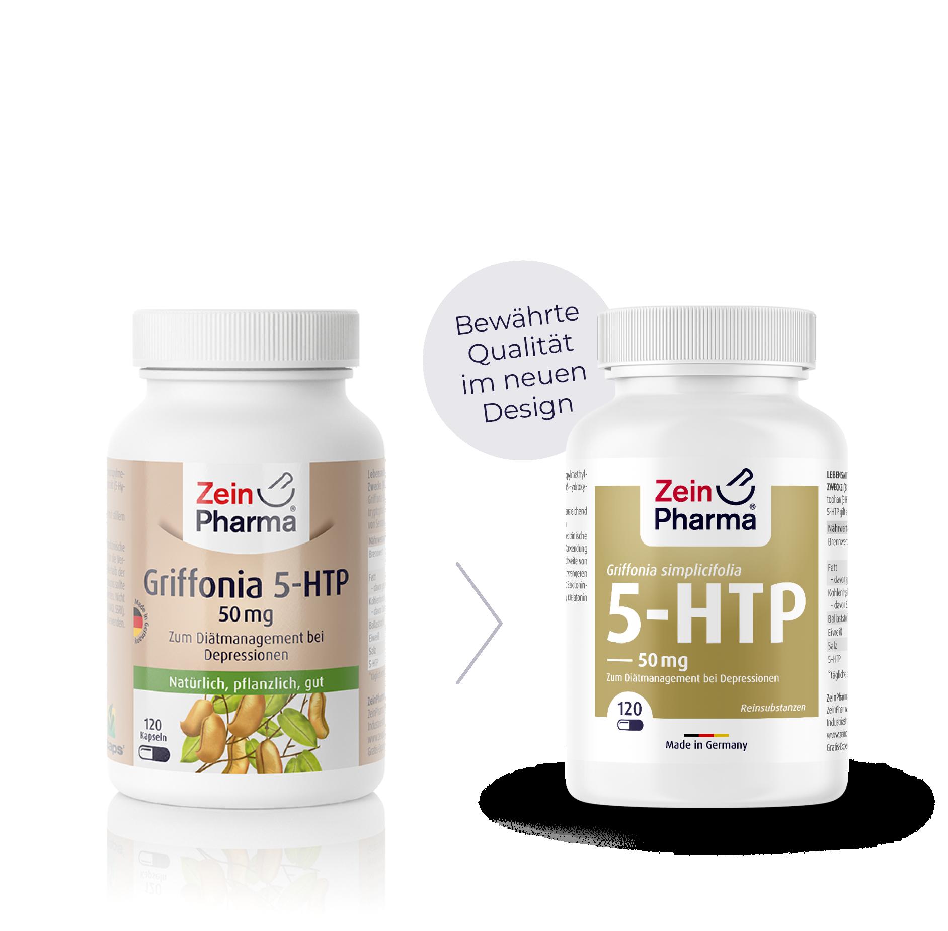 Griffonia 5-HTP 50 mg Kapseln