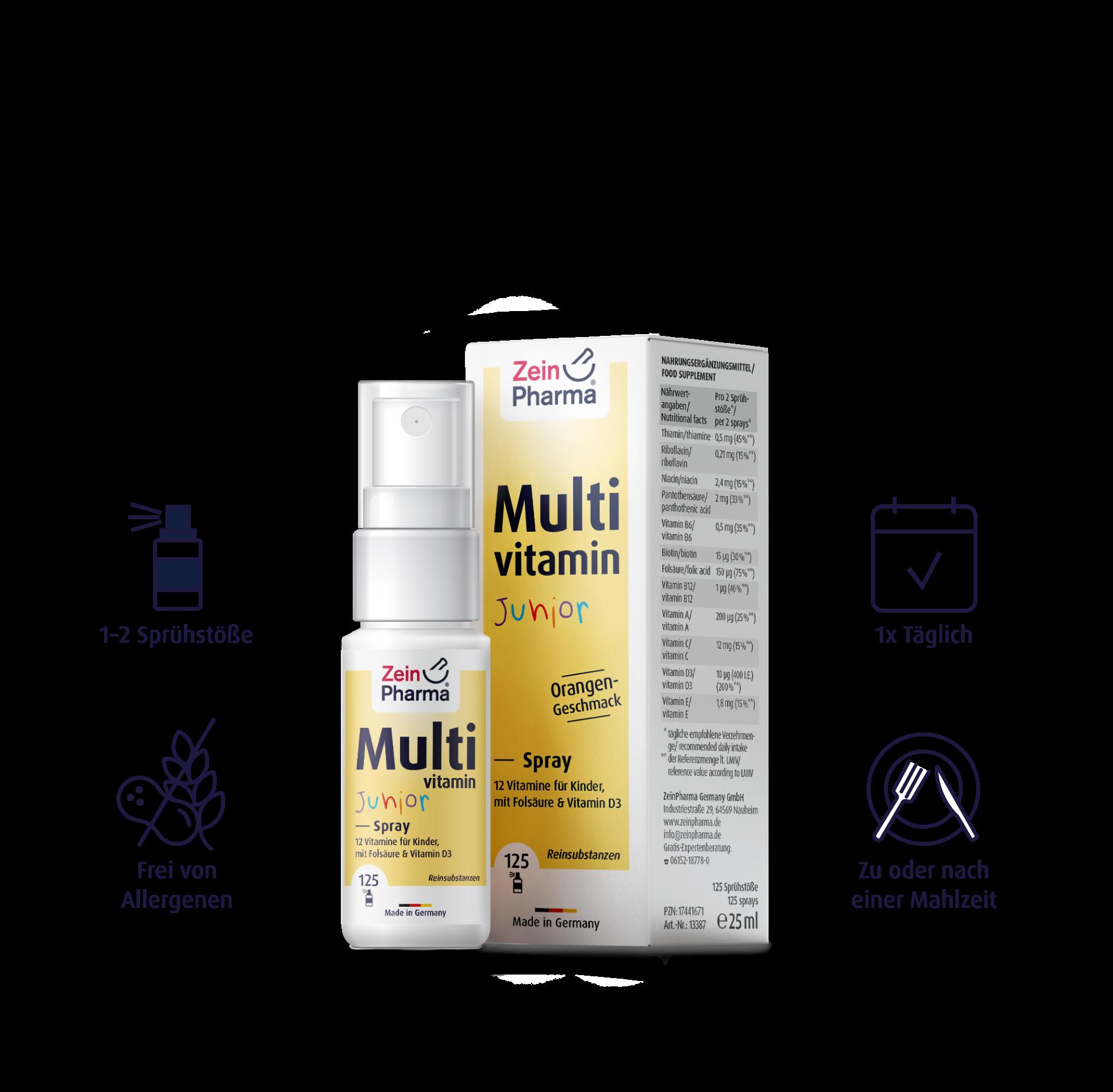 Multivitamin Junior Spray 25 ml