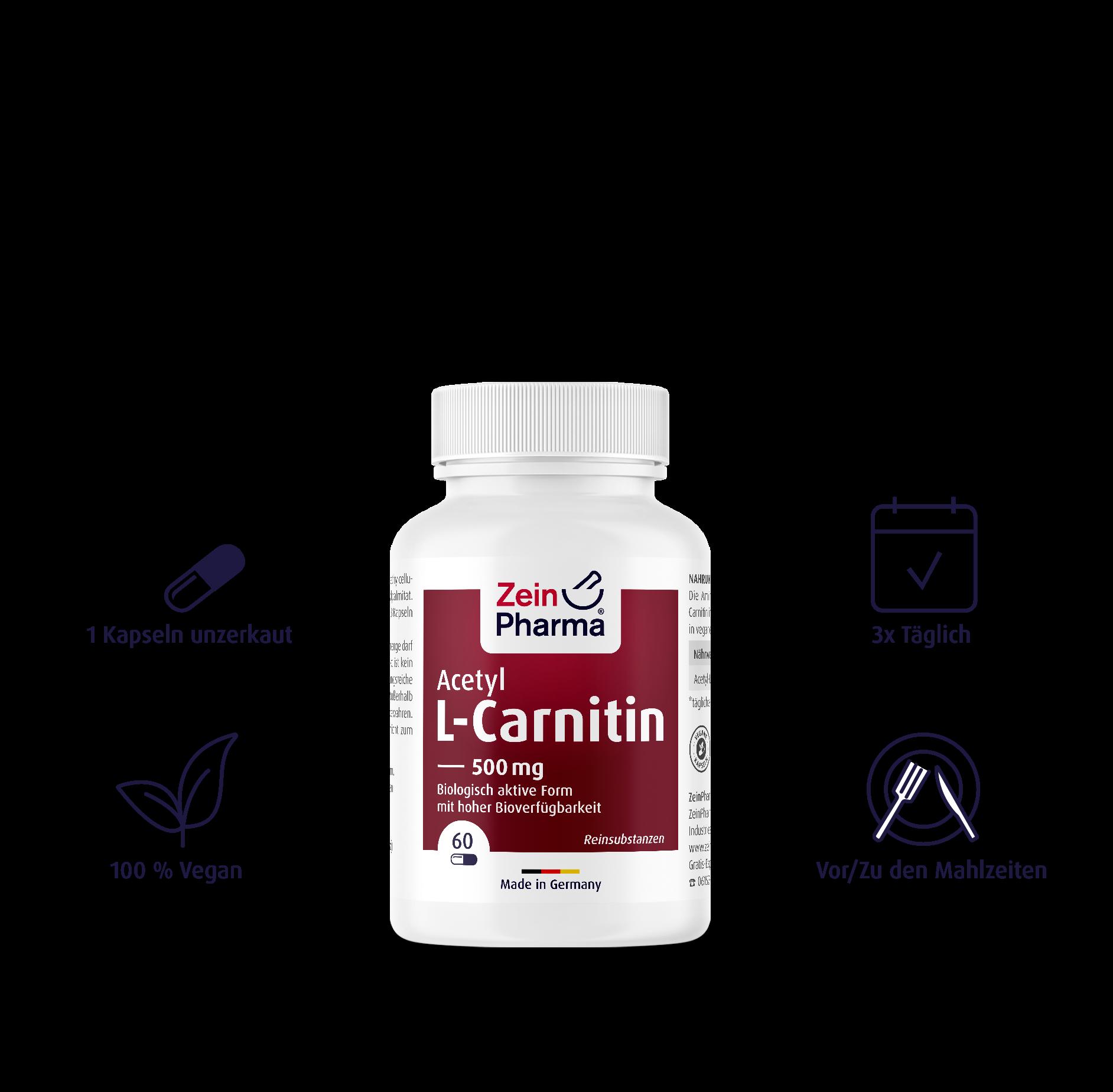 Acetyl-L-Carnitin Kapseln