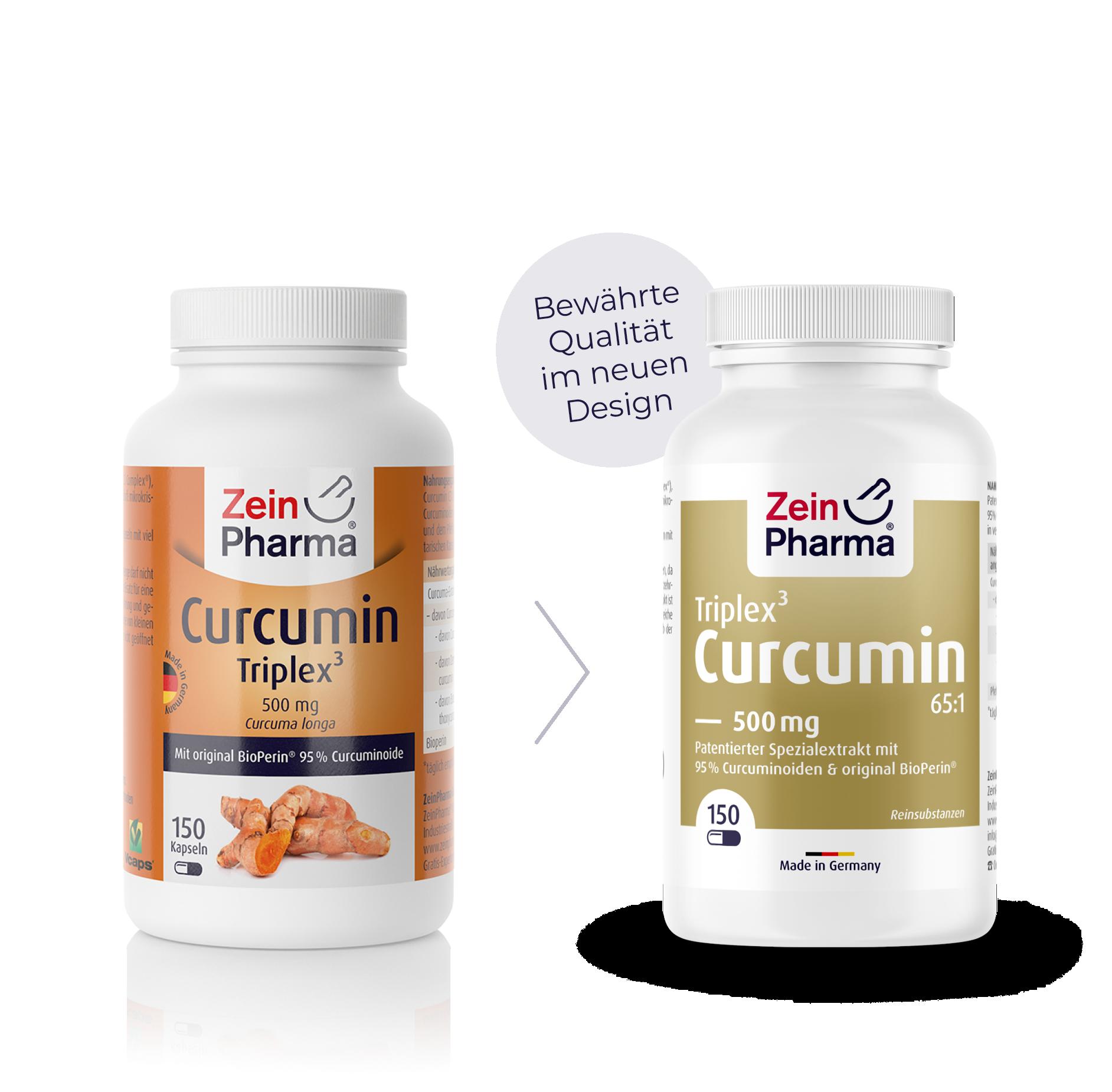 Curcumin-Triplex³ Kapseln