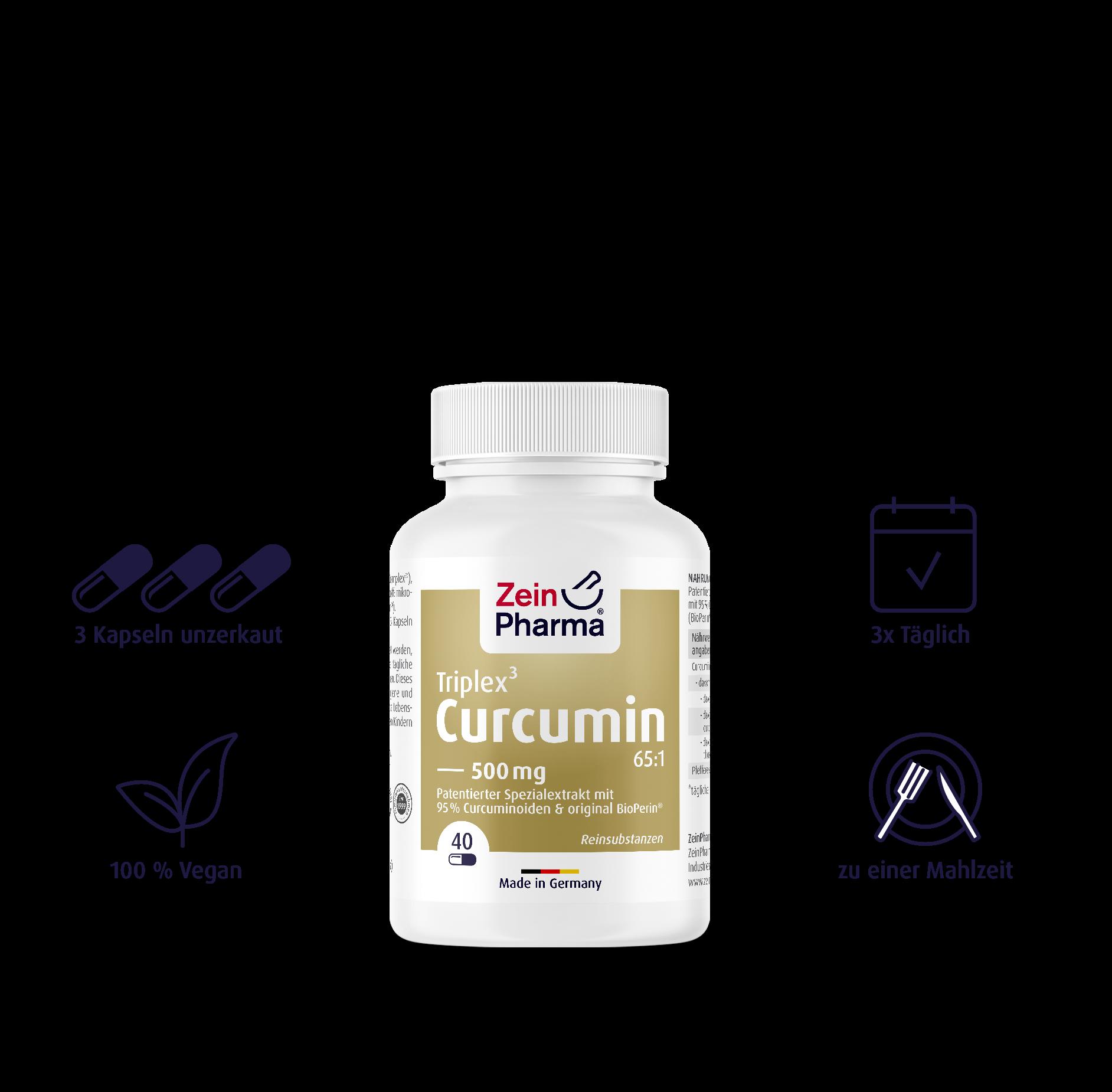 Curcumin-Triplex Kapseln