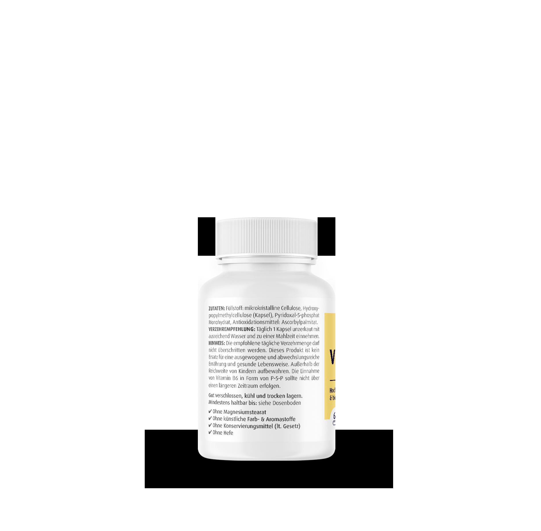 Vitamin B6 (P-5-P) 40 mg