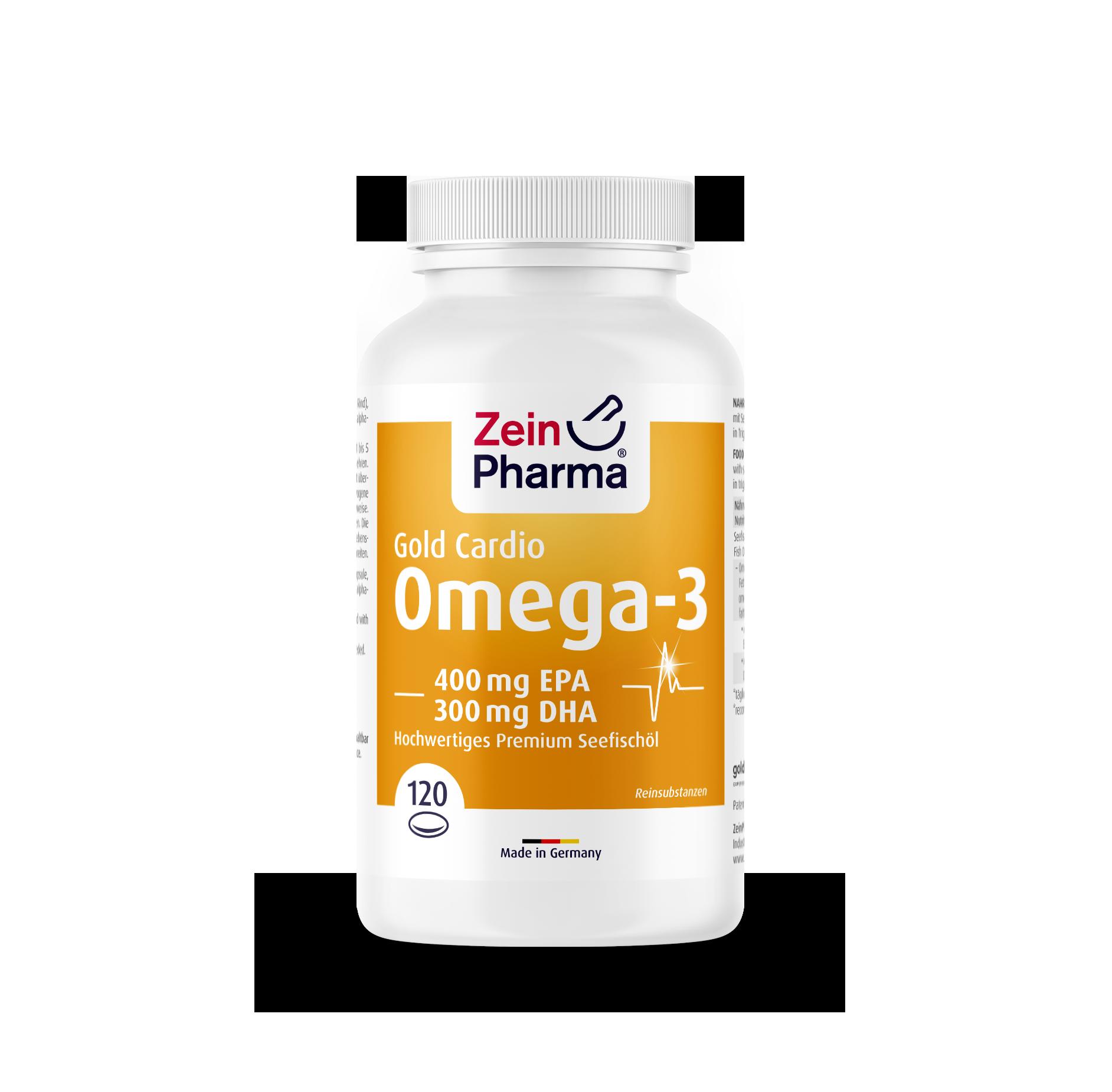 Omega-3 Gold - Cardio Edition